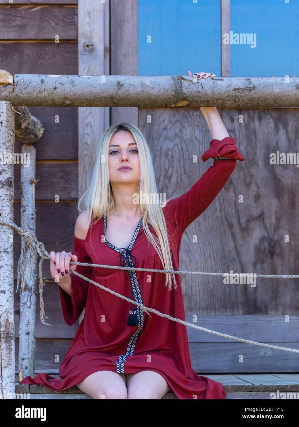 Country-girl countrygirl Stock Photo