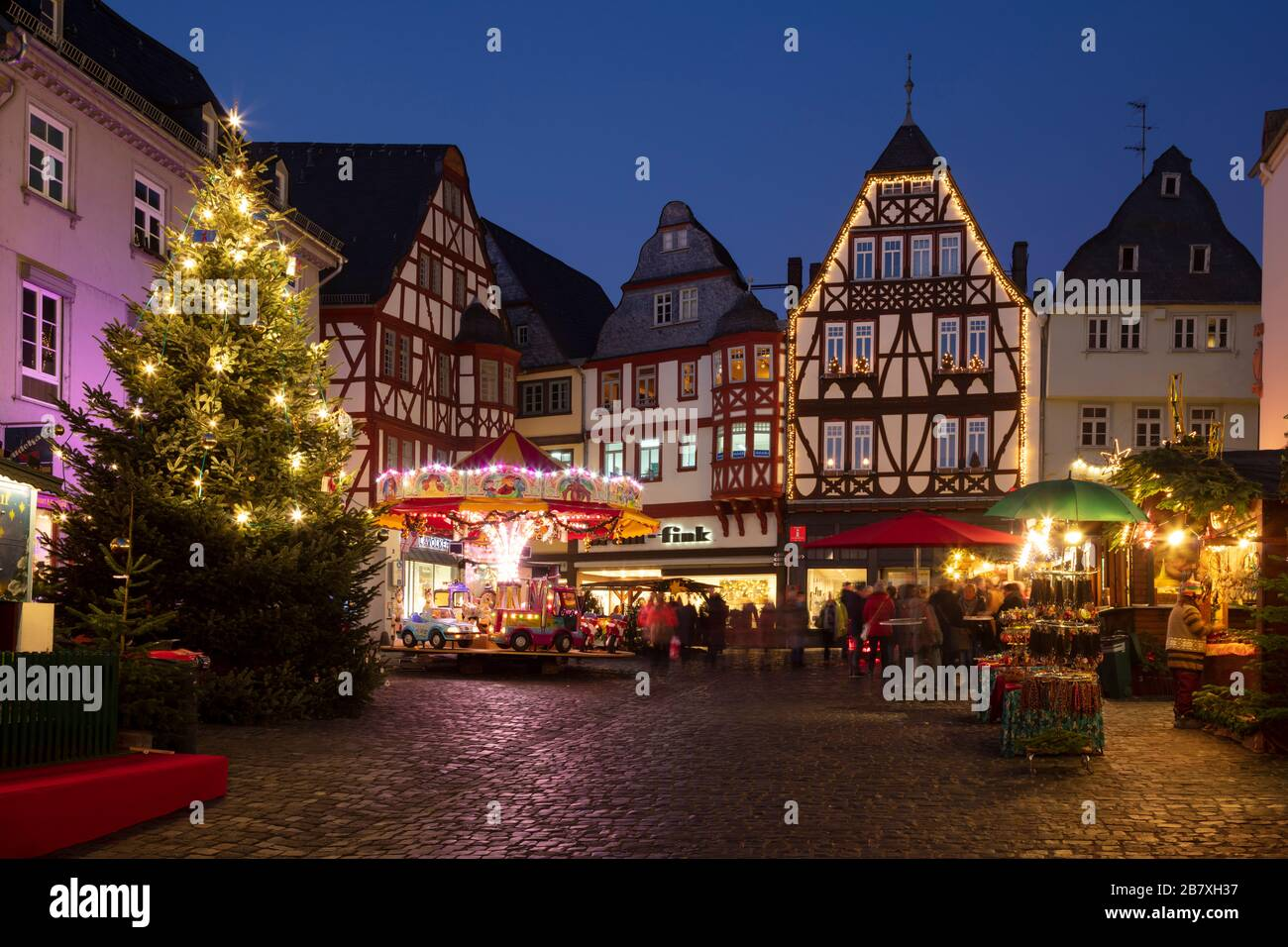 Limburg An Der Lahn Christmas Market 2020 Christmas market at the old town, Limburg an der Lahn, Hesse