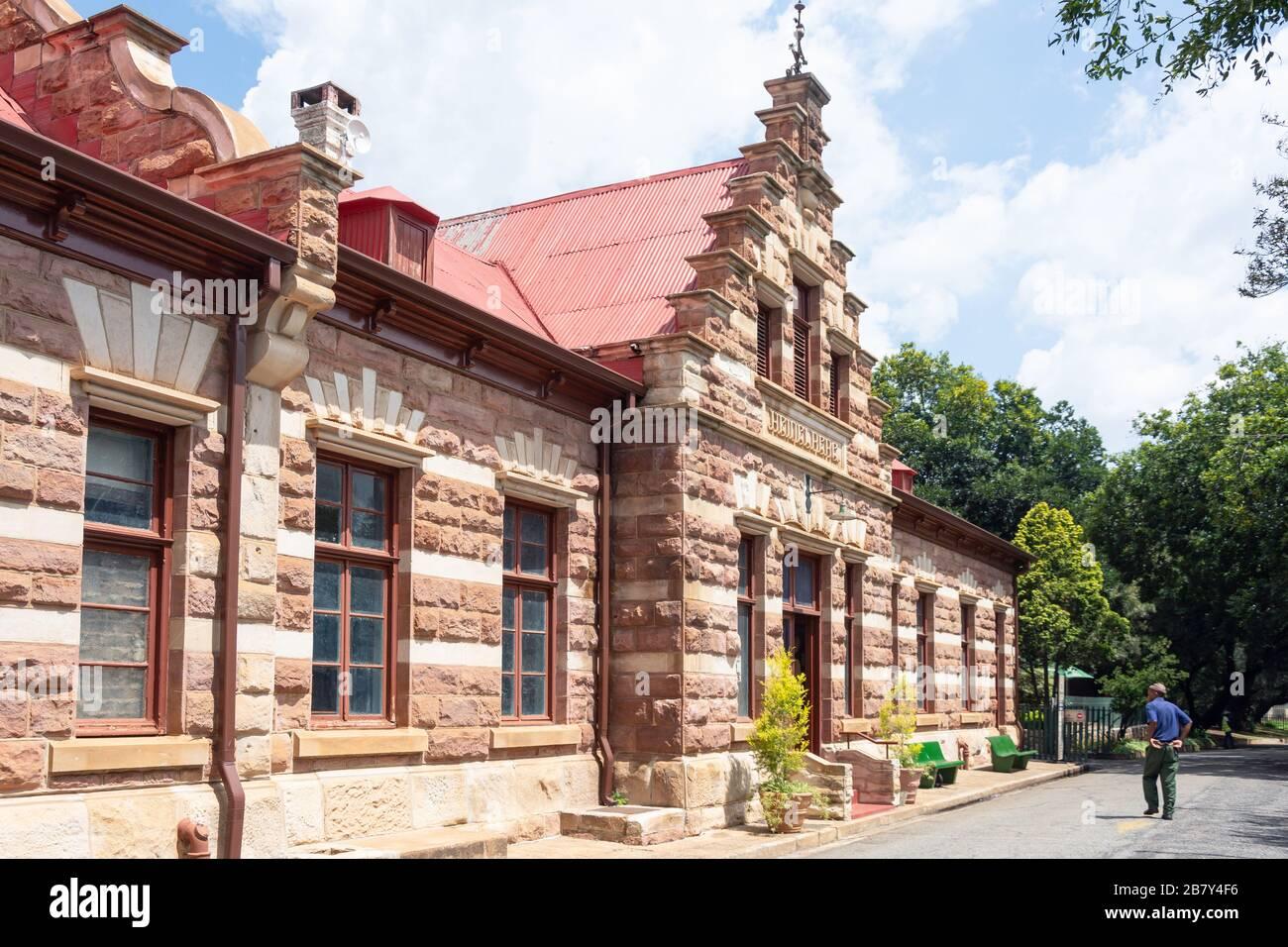Heidelberg Heritage Museum, Voortrekker Street, Heidelberg, Gauteng Province, Republic of South Africa Stock Photo