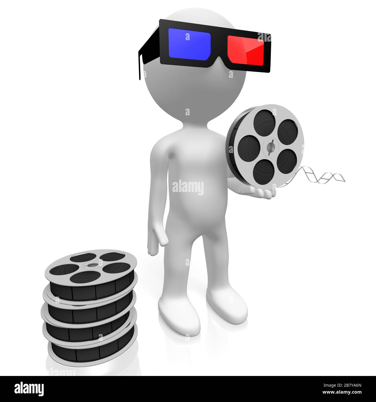 Movie Theater Film Reel Stock Photo Alamy