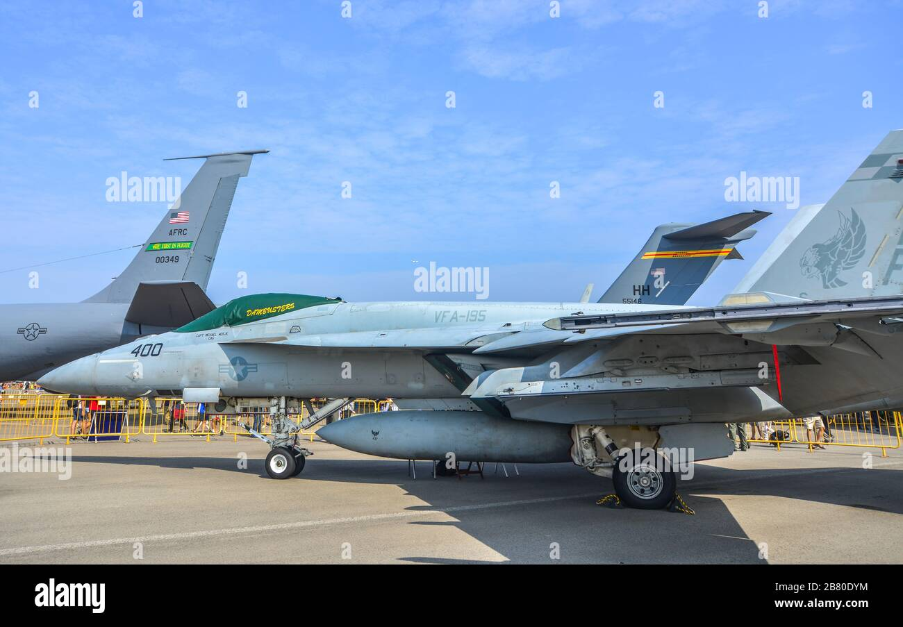 Boeing Fa 18 Hornet High Resolution Stock Photography And Images Alamy