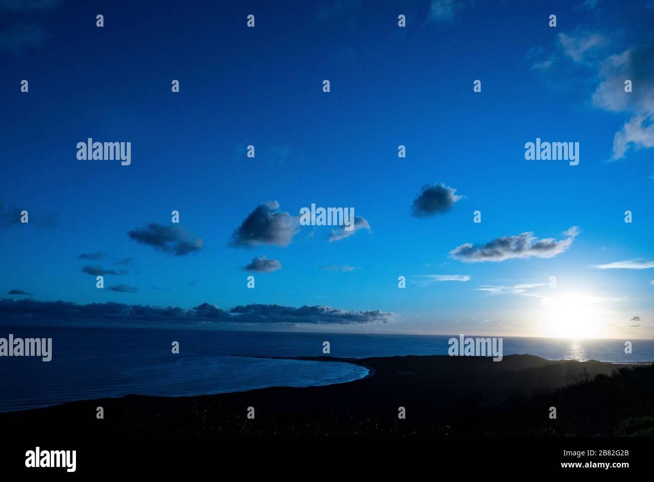 Sunset, Knysna, Garden Route, South Africa Stock Photo