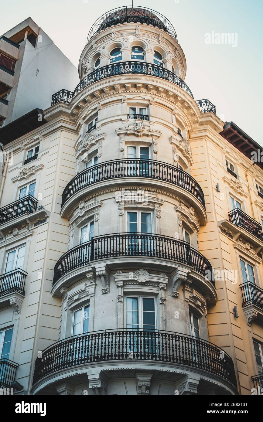 Round Balcony High Resolution Stock Photography And Images Alamy