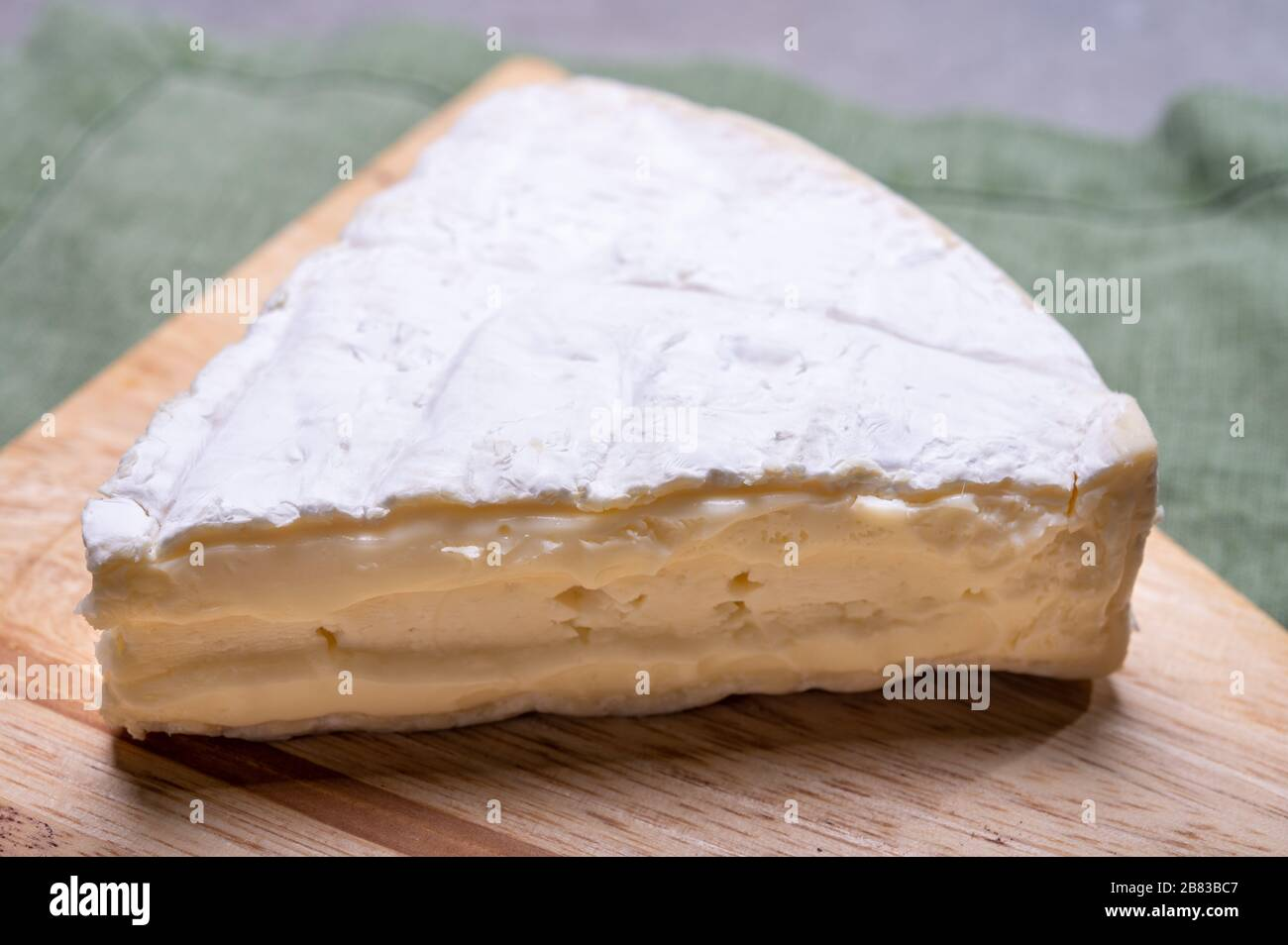 French Cheese Camembert Made From Cow Milk In Normandy France Close Up Stock Photo Alamy