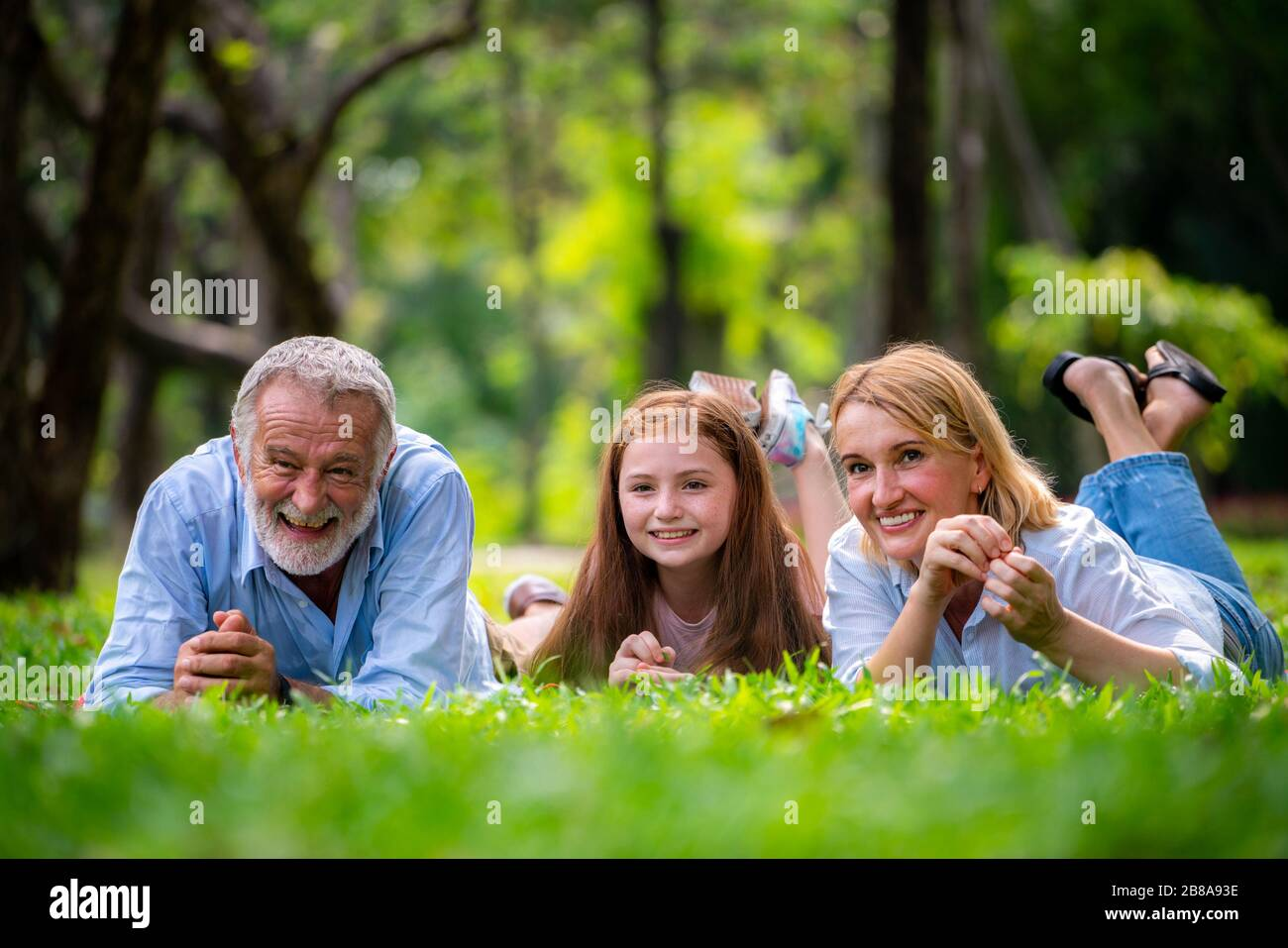 Old Man With Young Girl Stock Photos Old Man With Young Girl