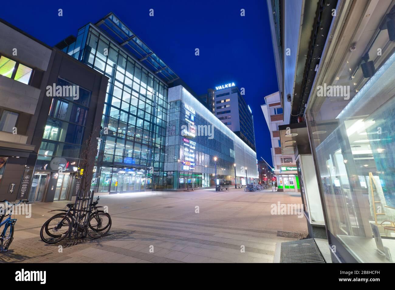 Valkea Shopping Center in Oulu, Finland Stock Photo