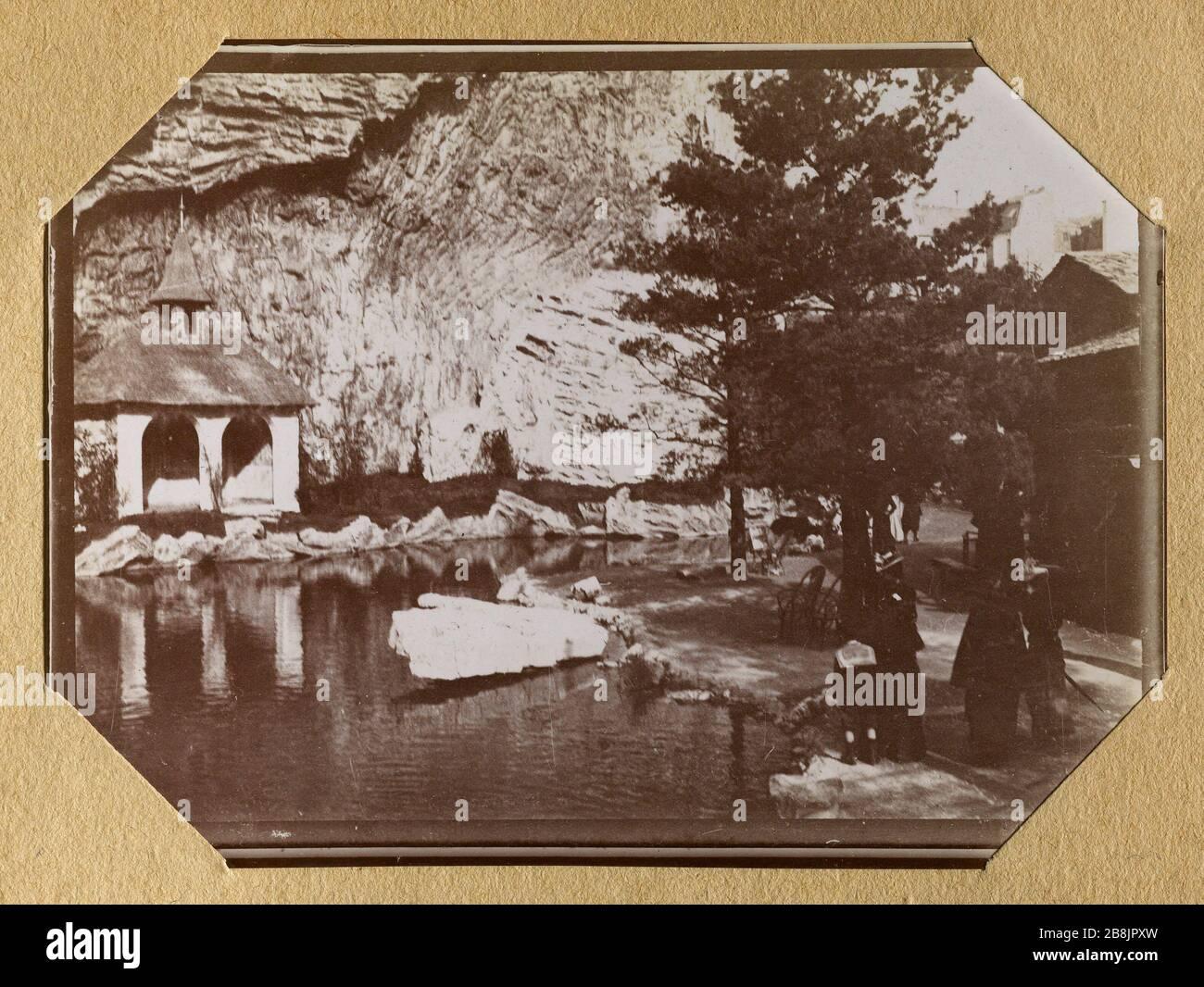 Album Of The Universal Exhibition Of 1900 Swiss Village Anonyme Album De L Exposition Universelle De 1900 Village Suisse 1900 Musee Des Beaux Arts De La Ville De Paris Petit Palais Stock Photo Alamy