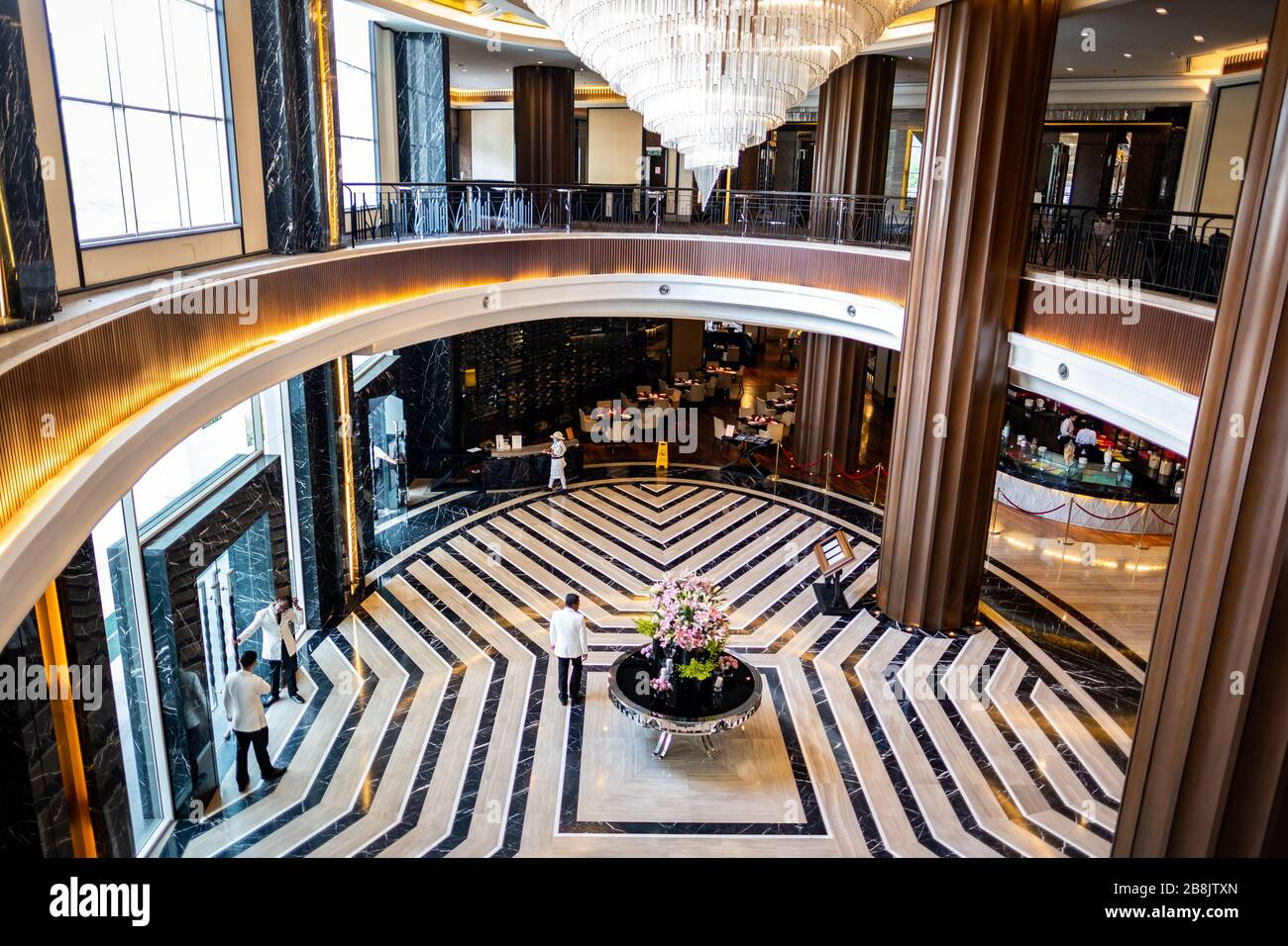 Kuala Lumpur Malaysia Interior Of The The Majestic Hotel Kuala Lumpur A Famous Colonial Building Hotel And A National Heritage Site Stock Photo 349539309 Alamy