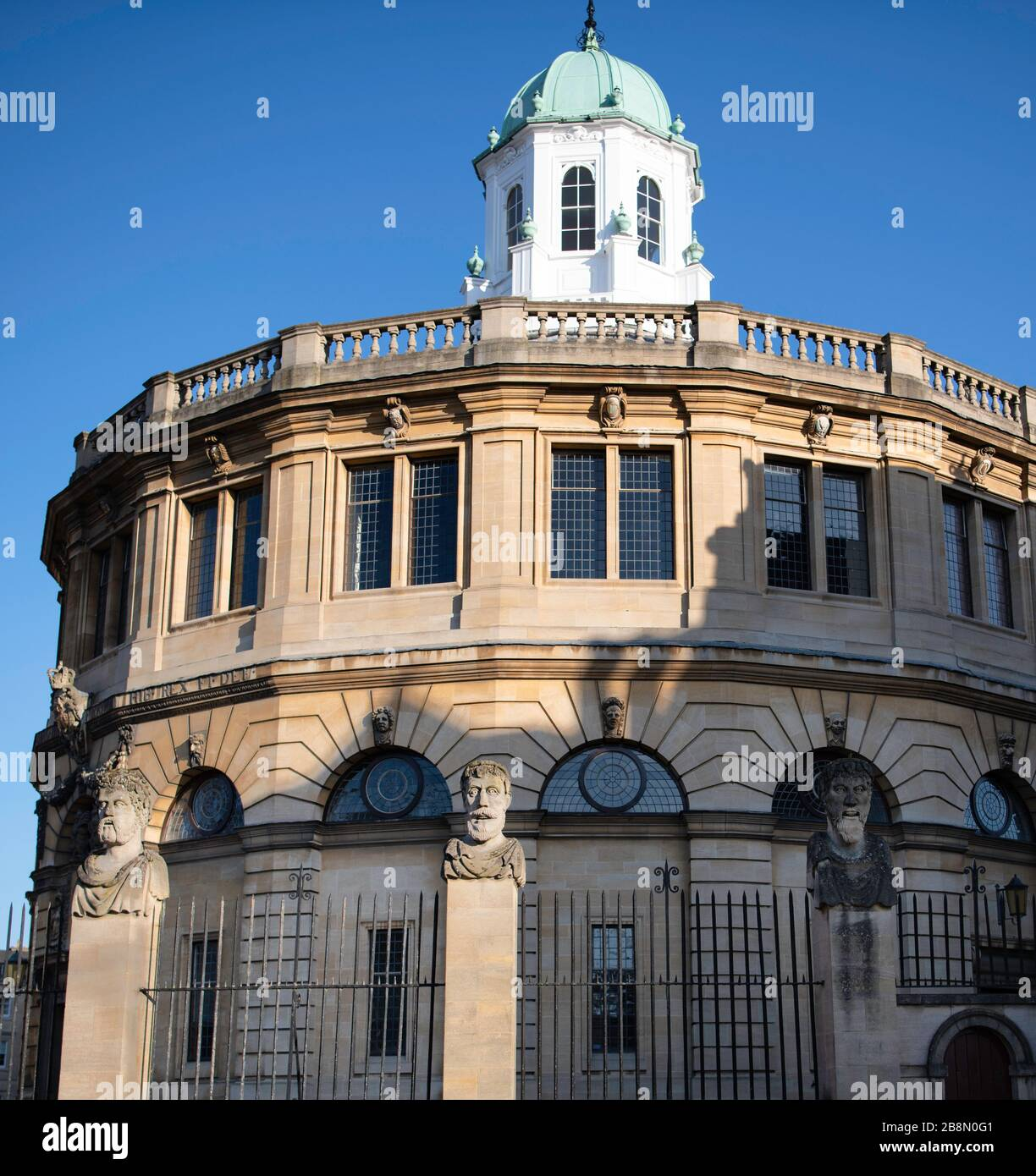 Sheldonian theatre Oxford Stock Photo