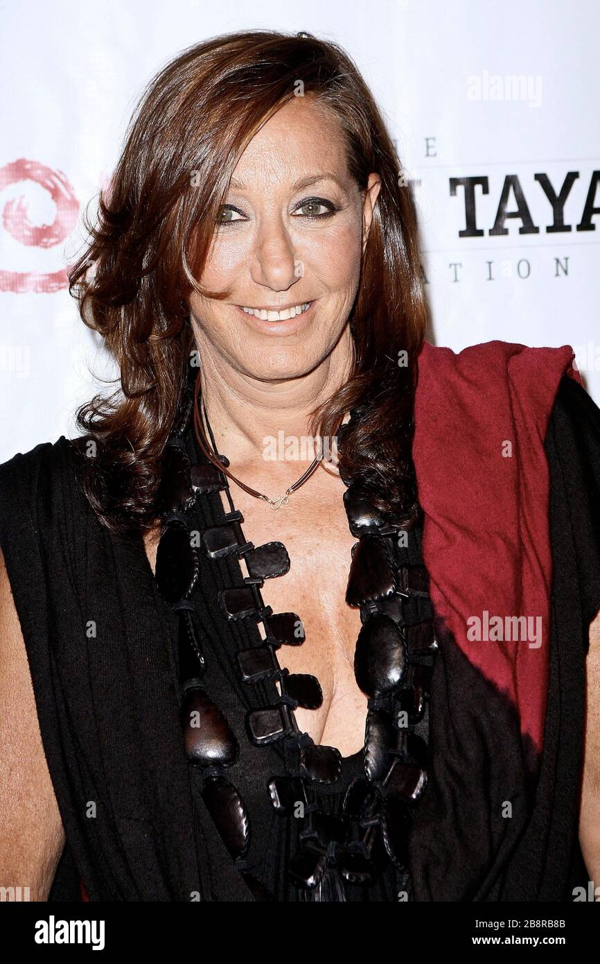 New York Ny Usa 3 June 2010 Fashion Designer Donna Karan At The 7th Annual Wayuu Taya Foundation Gala At The Stephen Weiss Studio Credit Steve Mack Alamy Stock Photo Alamy