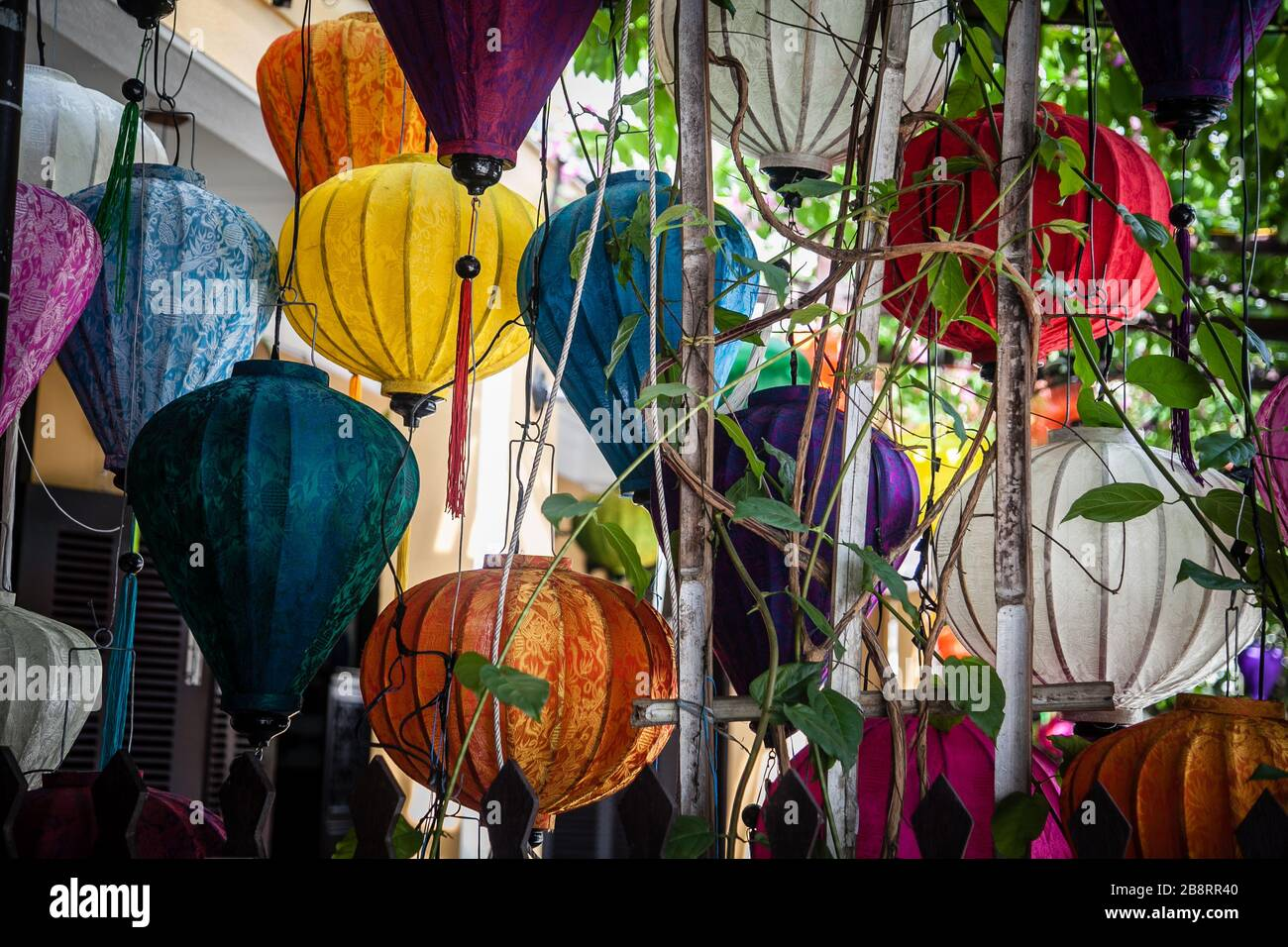 Lanterns in Hoi An Stock Photo