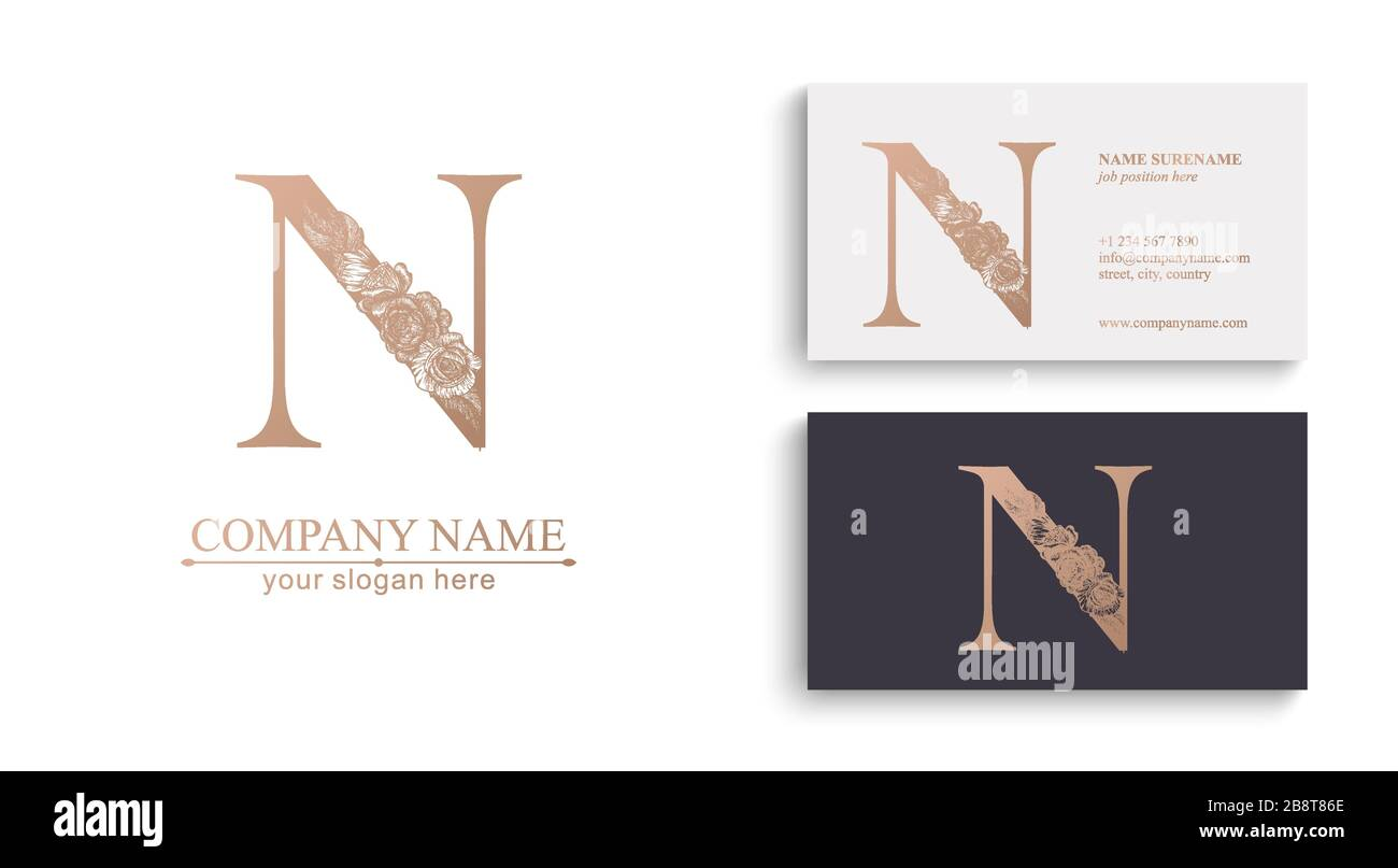 Letter N Logo High Resolution Stock Photography And Images Alamy