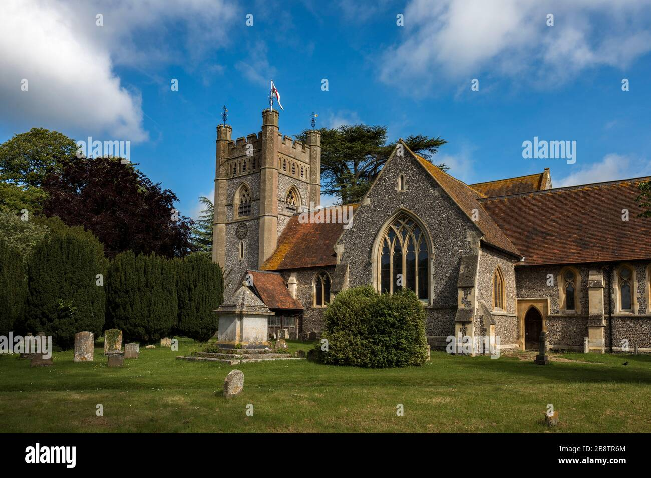 Hambleden Church; Buckinghamshire; UK Stock Photo
