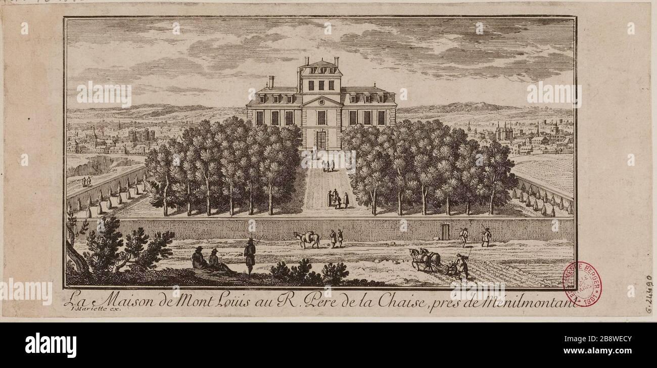 The House Mont Loüis the Reverend Father de la Chaise, near
