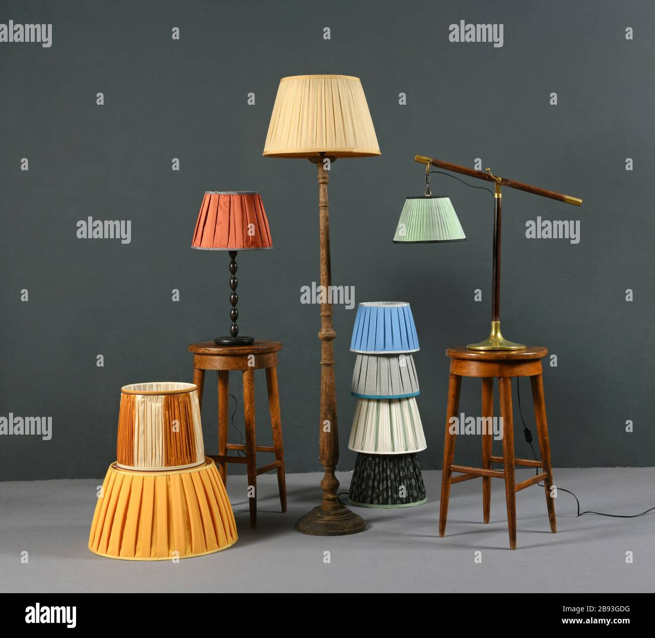 Anglepoise Table Lamp Stock Photos Anglepoise Table Lamp Stock