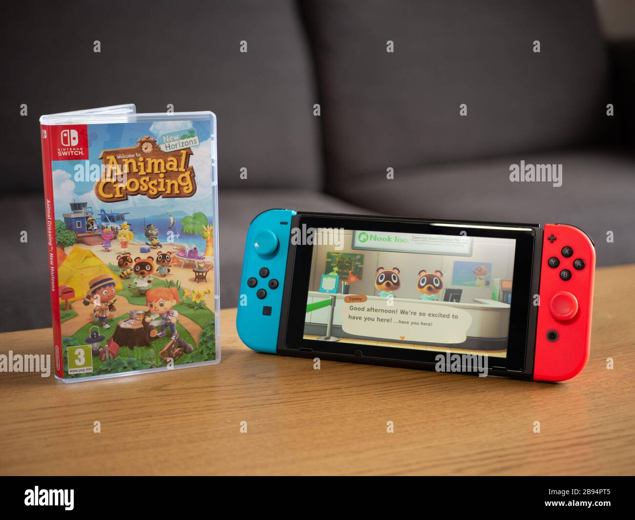 Uk March 2020 Nintendo Switch With Animal Crossing New Horizons
