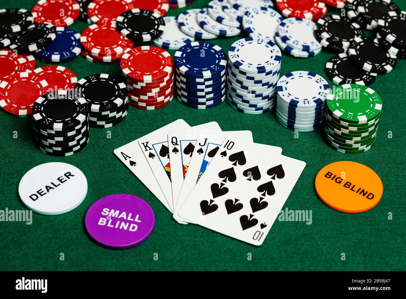 Ace High Poker High Resolution Stock Photography And Images Alamy