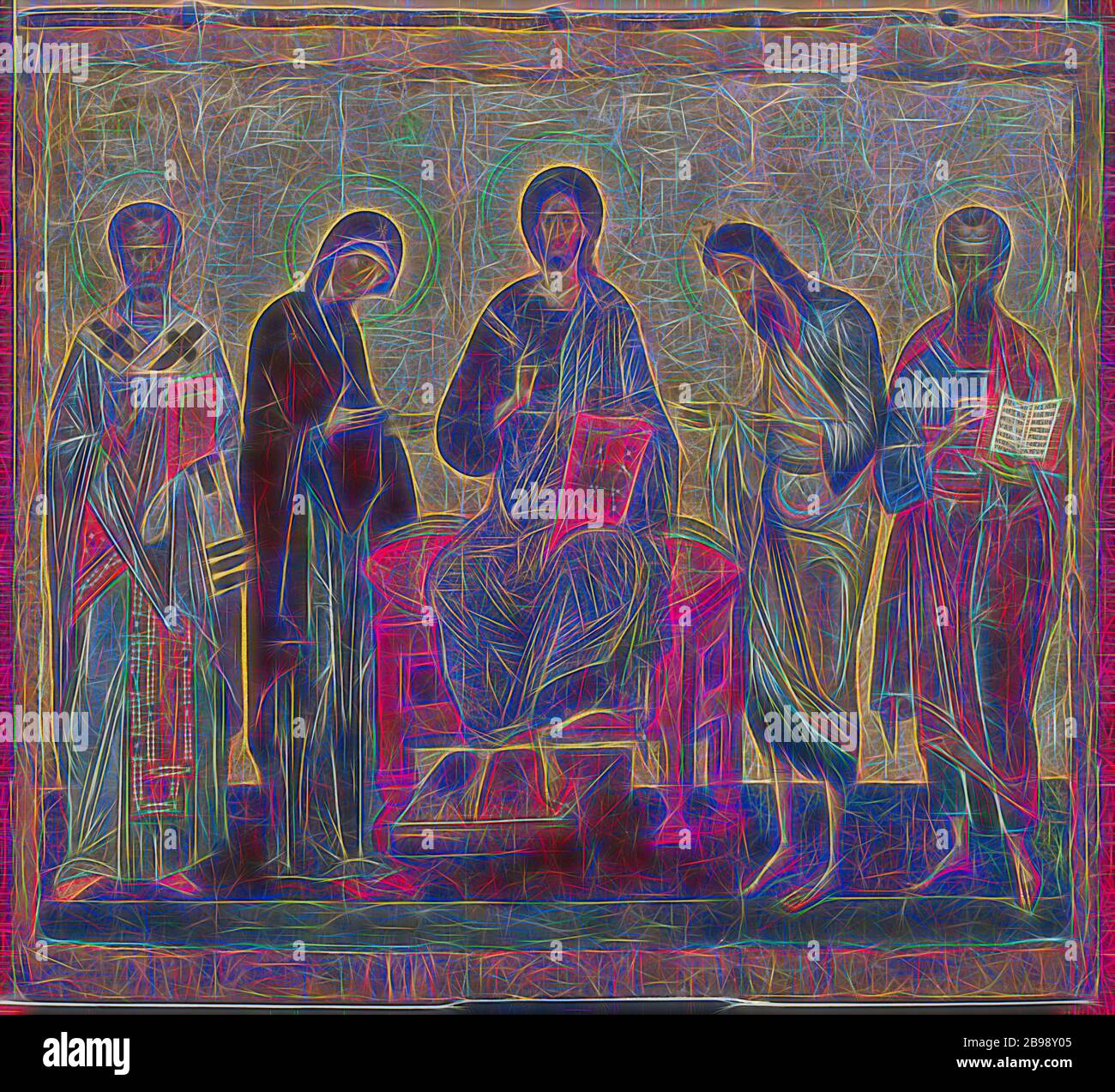 Deesis With Saint Nicholas And An Unknown Saint Icon Height 94 Cm 37 Inches Width 104 Cm 40 9 Inches Reimagined By Gibon Design Of Warm Cheerful Glowing Of Brightness And Light Rays Quick and easy cm to inches conversion: alamy