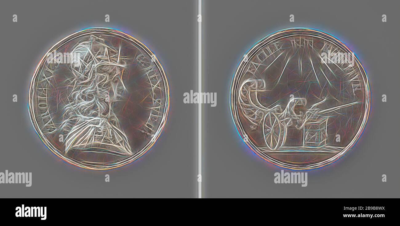 Golden Metallic Horn Unicorn Coin Money Bank Container 5.5 x 5 x 3.5