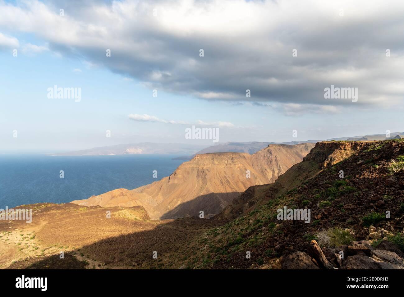 Africa, Djibouti. Seascape in Djibouti Stock Photo