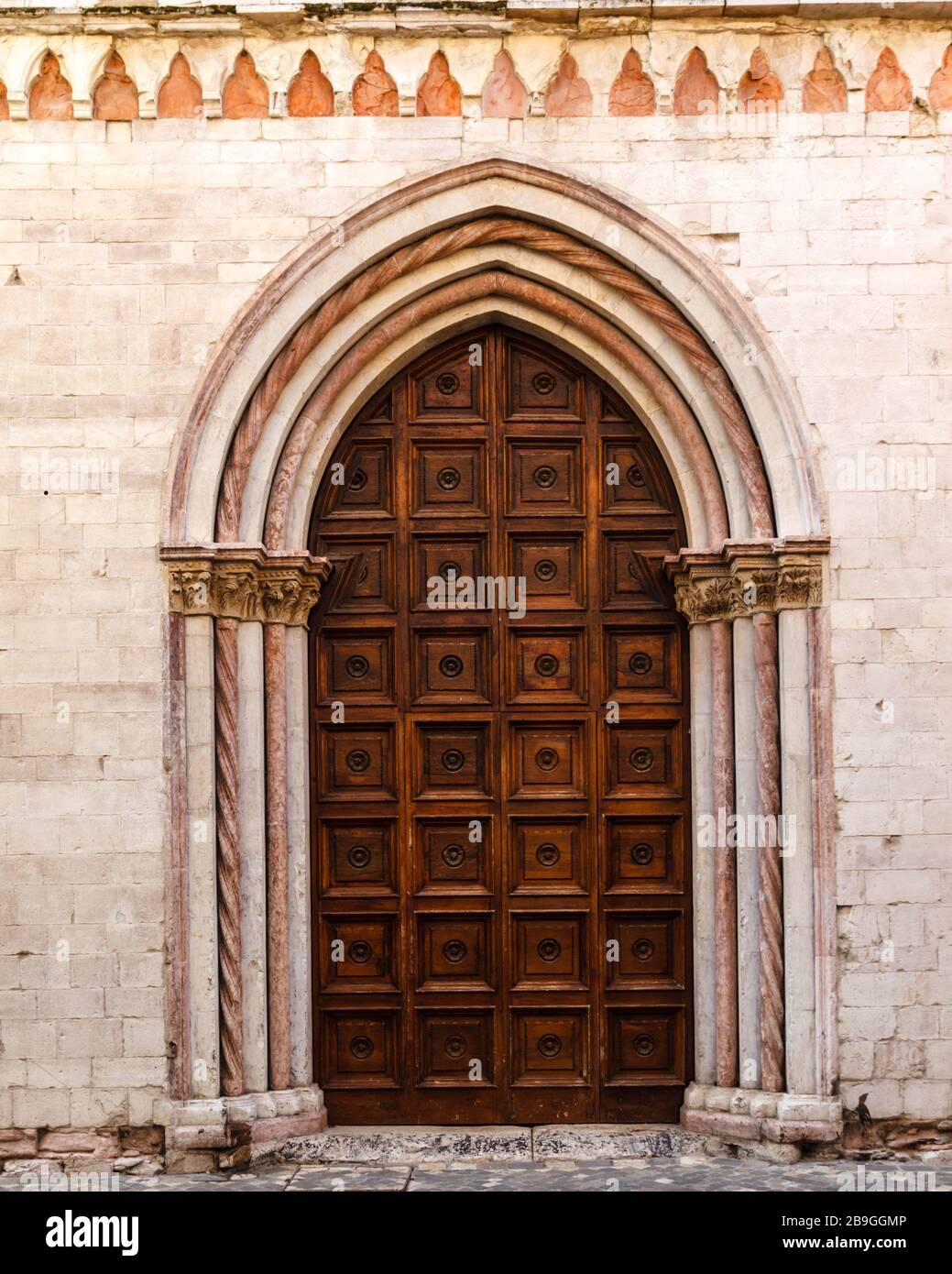 Auditorium di Santa Catarina, Foligno, Umbria, Italy Stock Photo