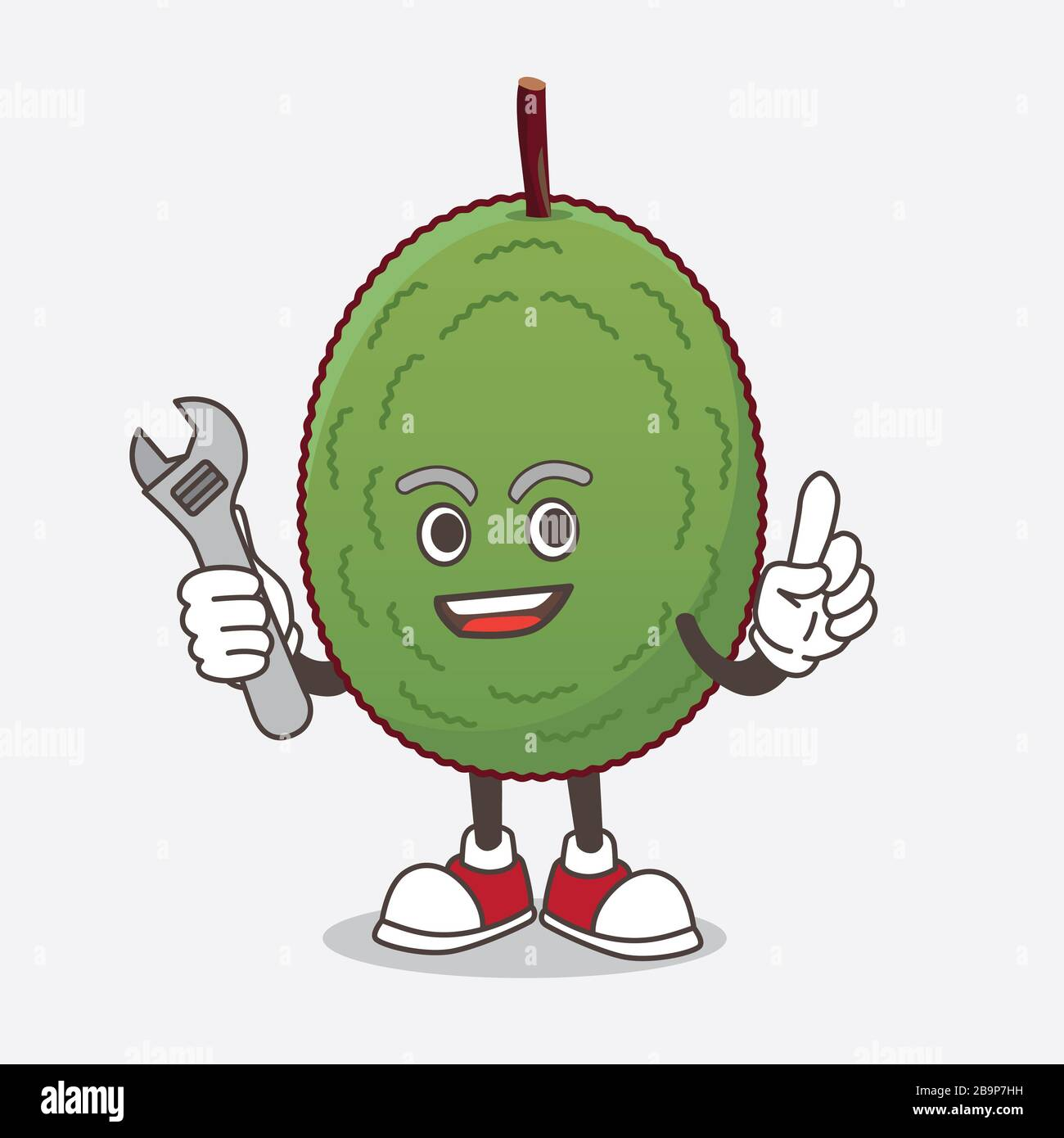 A Picture Of Jackfruit Cartoon Mascot Character As Happy Mechanic Stock Photo Alamy Find images of tree cartoon. alamy