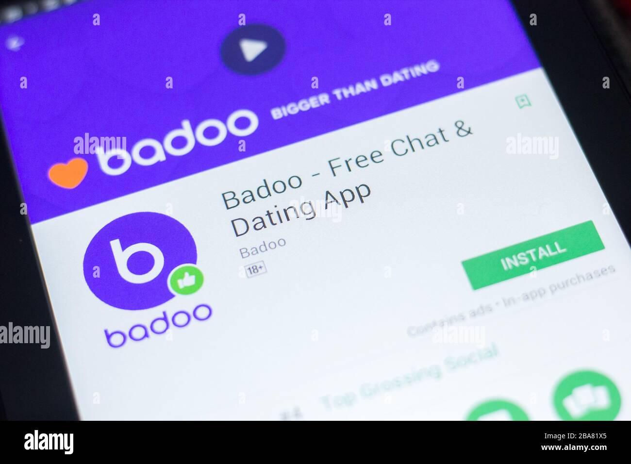 Badoo mobile site login