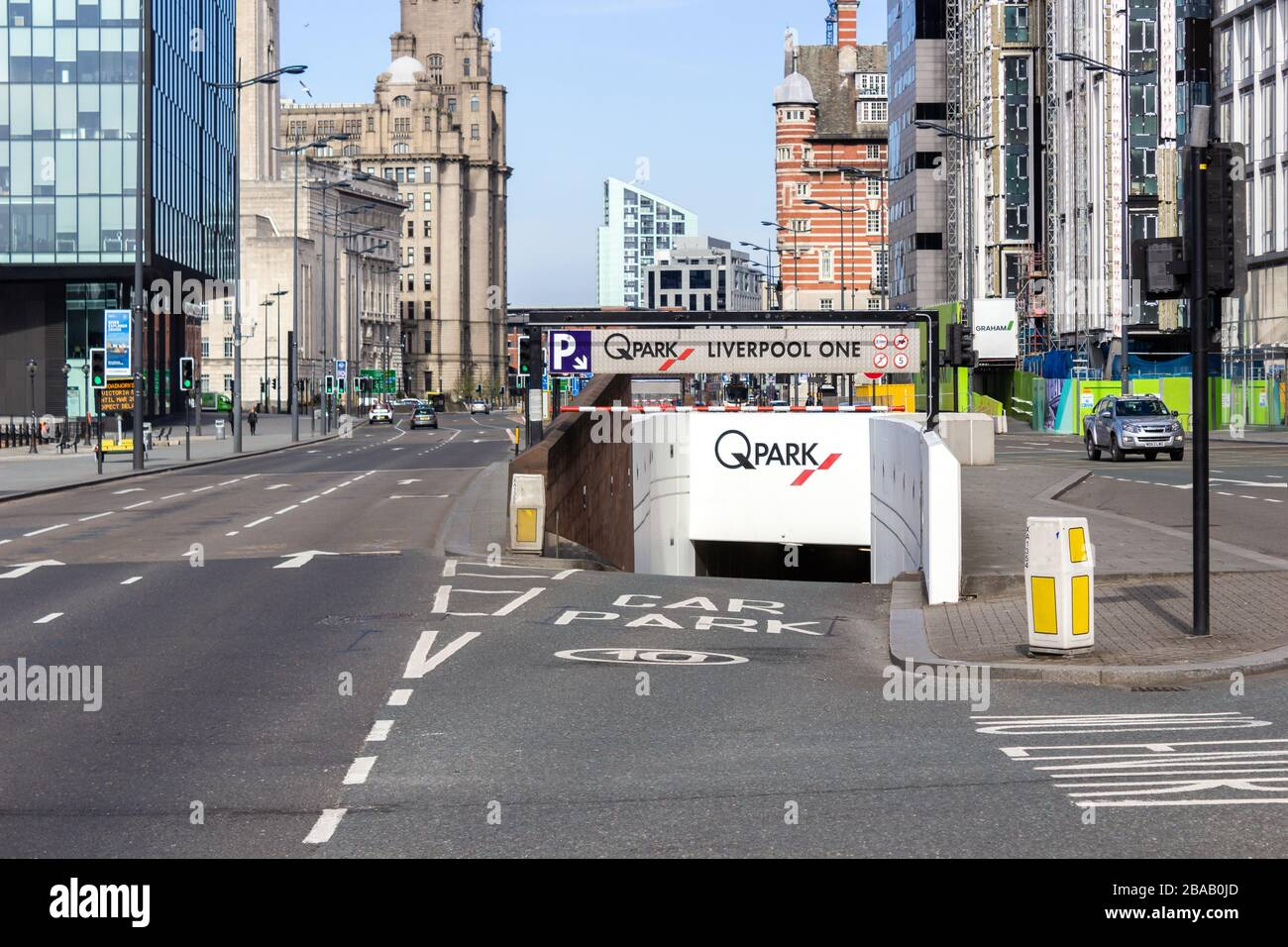 Entrance To Underground Car Park High Resolution Stock Photography And Images Alamy