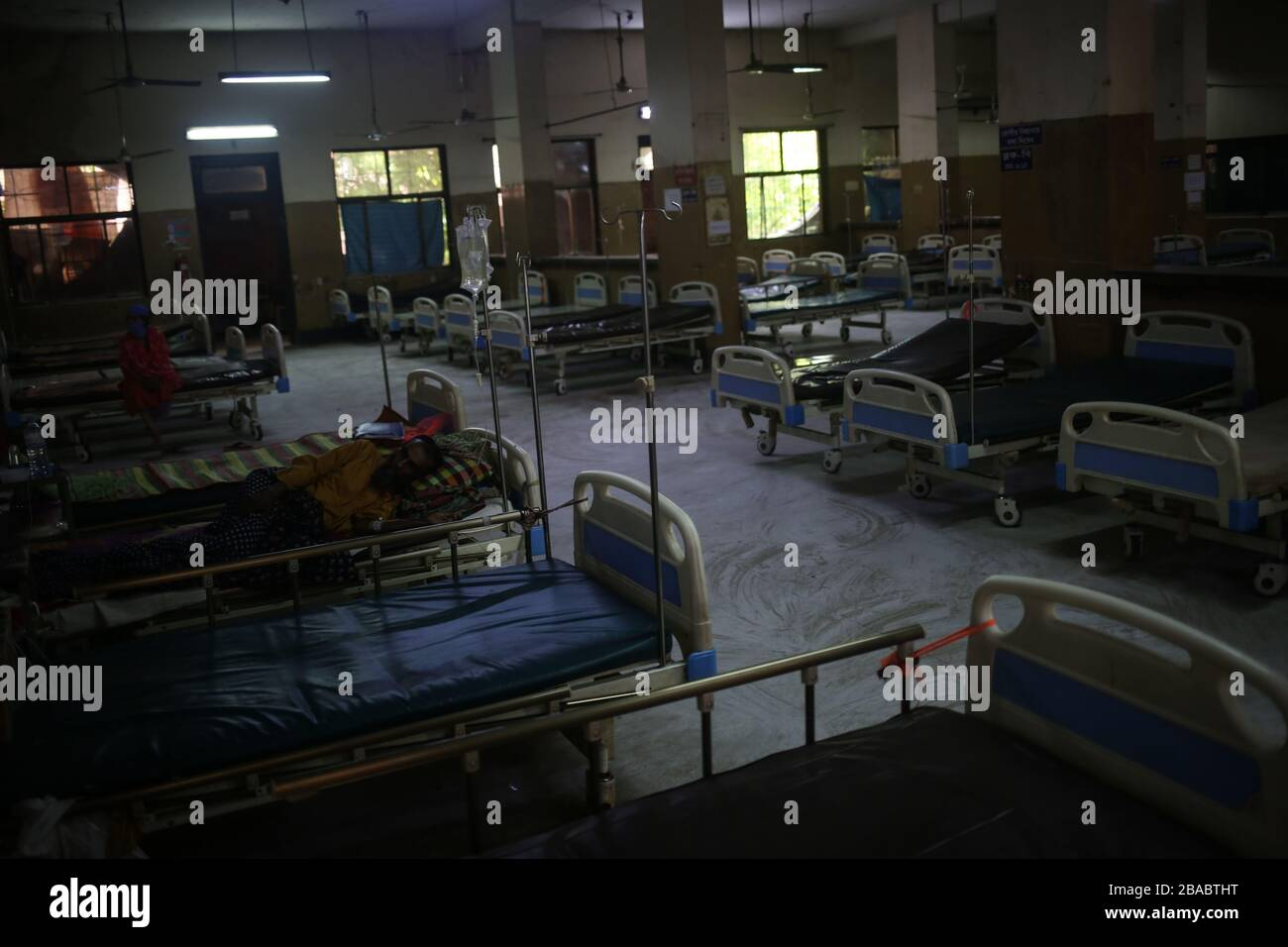 Dhaka, Bangladesh. 26th Mar, 2020. Fear of amid spread of COVID-19 left Shaheed Suhrowardy Medical College almost empty. Total 44 people have been infected by Covid-19 in Bangladesh, of whom 5 died confirmed by IEDCR. (Photo by Md. Rakibul Hasan/Pacific Press) Credit: Pacific Press Agency/Alamy Live News Stock Photo