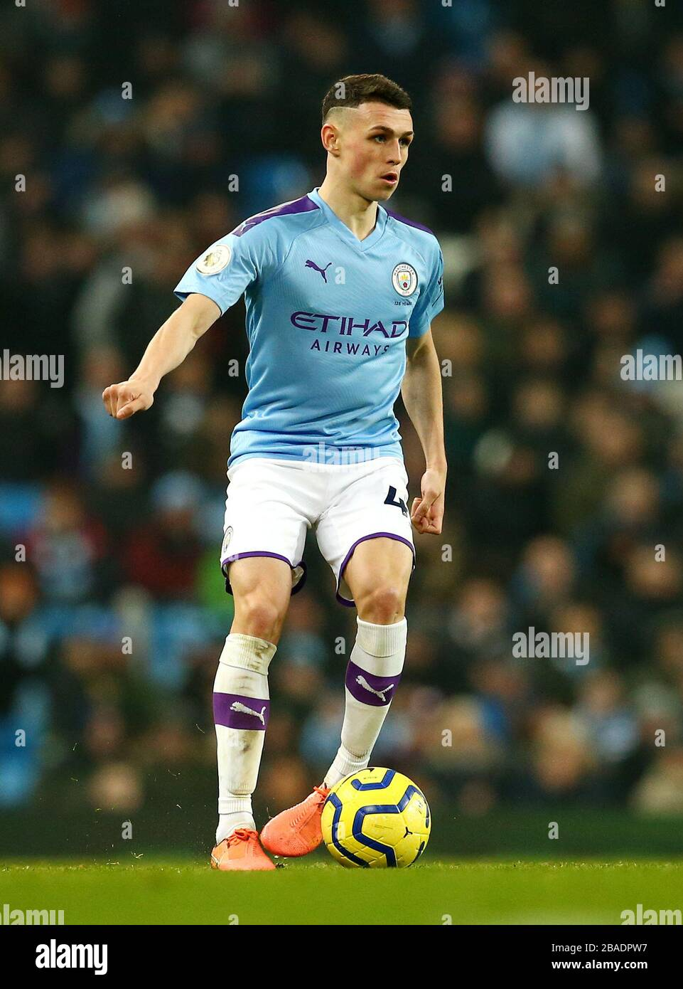 Manchester City's Phil Foden Stock Photo