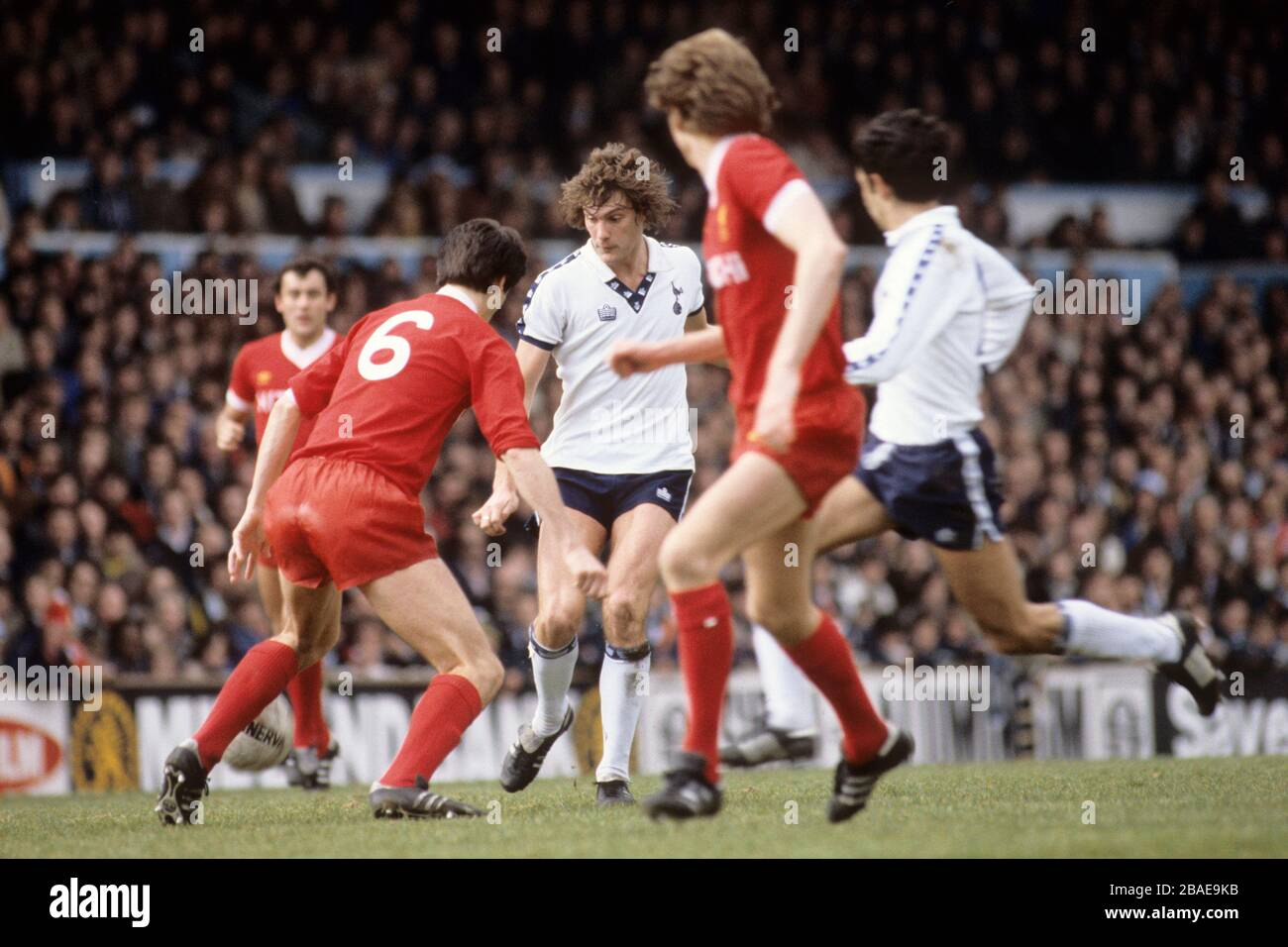 Glenn Hoddle Spurs High Resolution Stock Photography And Images Alamy