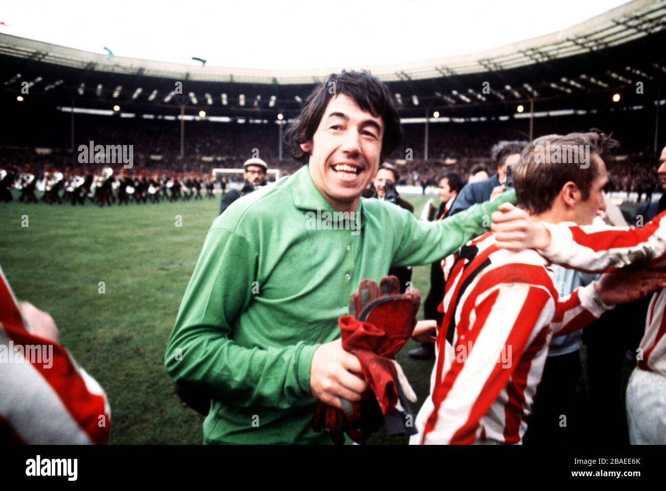 1972 LEAGUE CUP STOKE CITY PHOTO CHOOSE SIZE WINNERS TROPHY GORDON BANKS