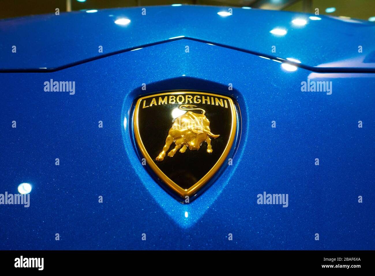 Lamborghini Logo High Resolution Stock Photography And Images Alamy