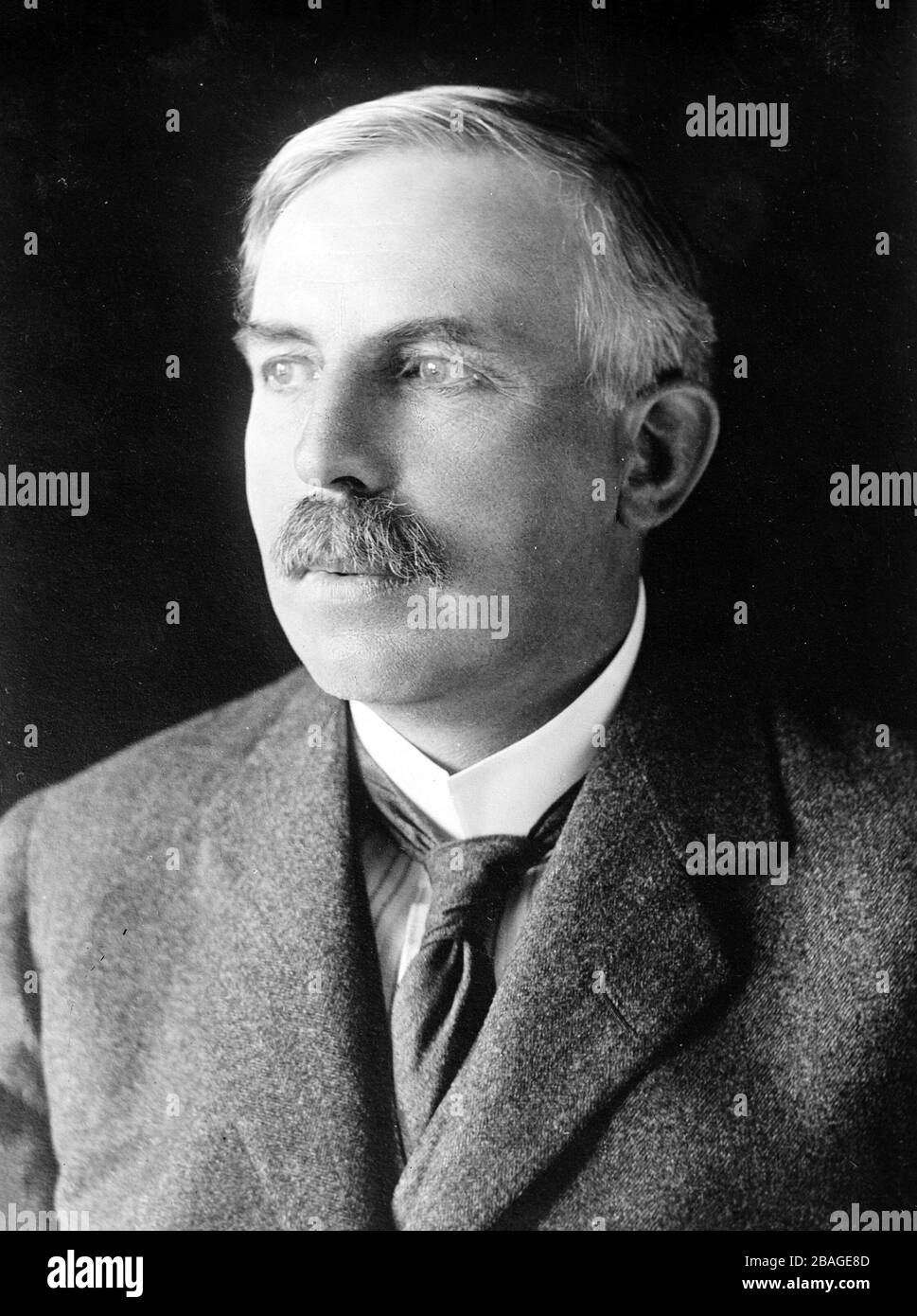 ERNEST RUTHERFORD (1871-1937) New Zealand-born British physicist who pioneered nuclear physics. Stock Photo