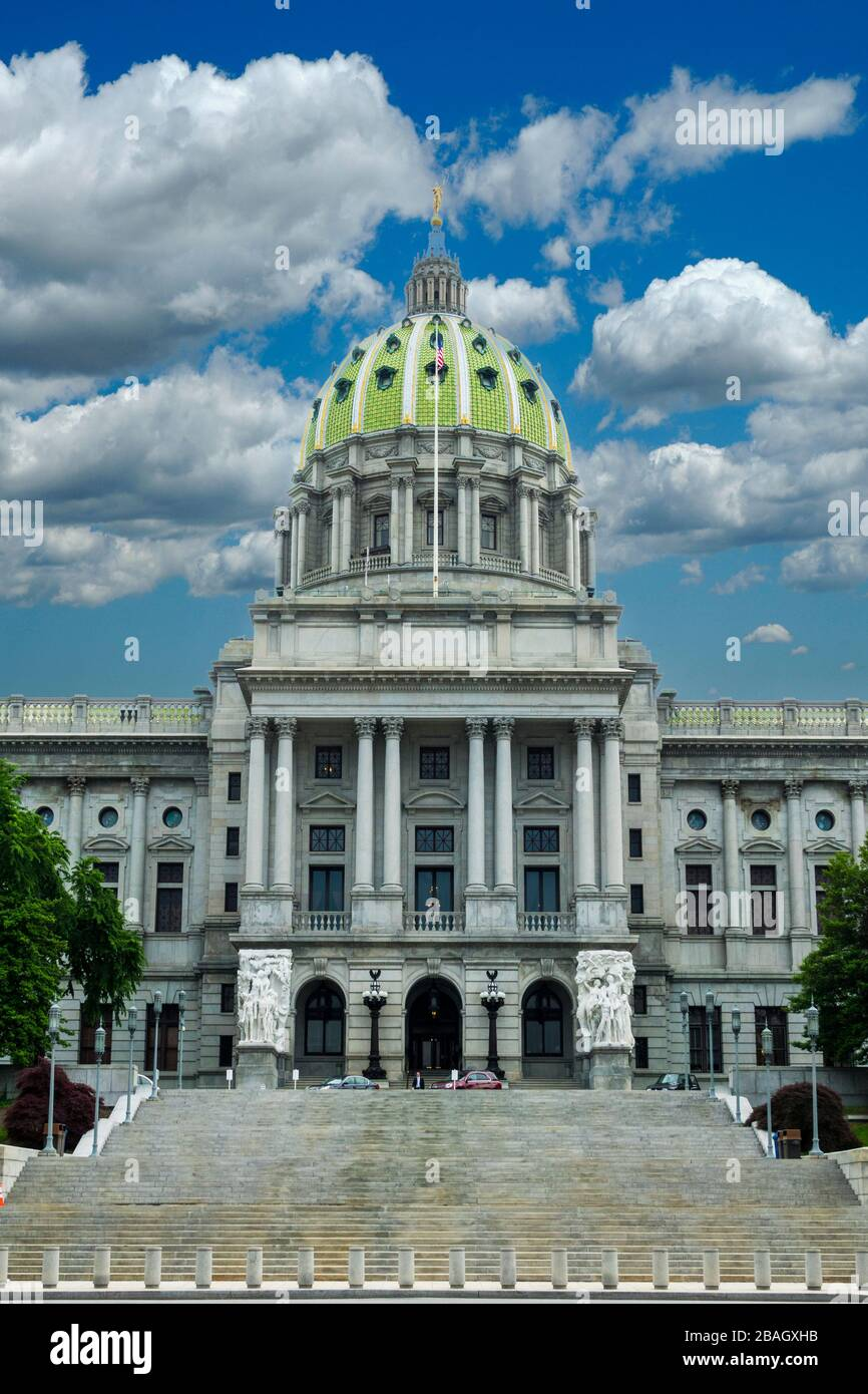 Pennsylvania Pa State Capitol Capital High Resolution Stock Photography And Images Alamy