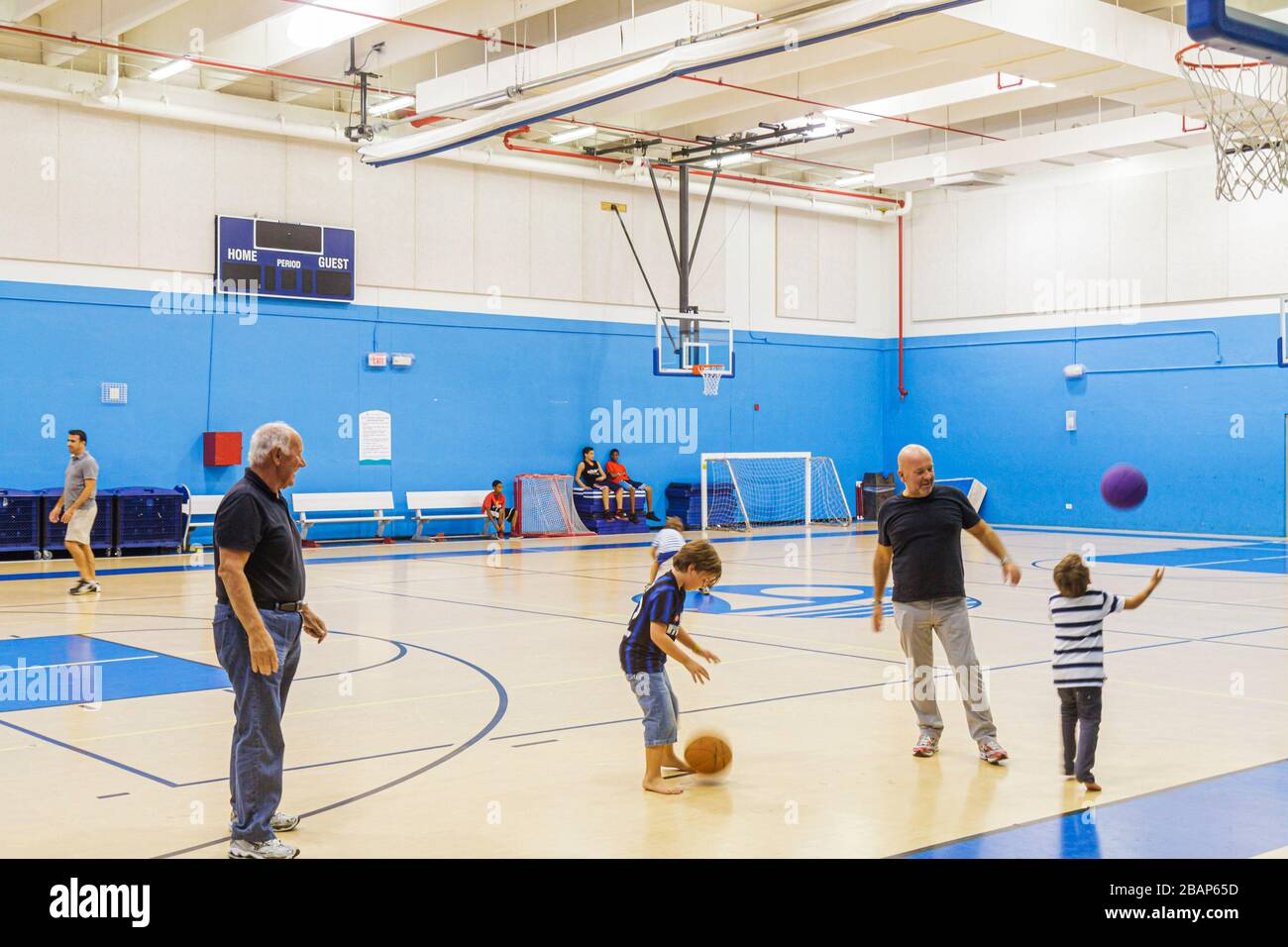 Florida Gymnasium High Resolution Stock Photography And Images Alamy