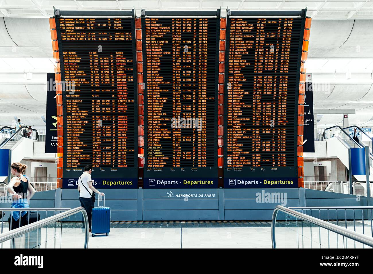 Charles De Gaulle Airport High Resolution Stock Photography And Images Alamy