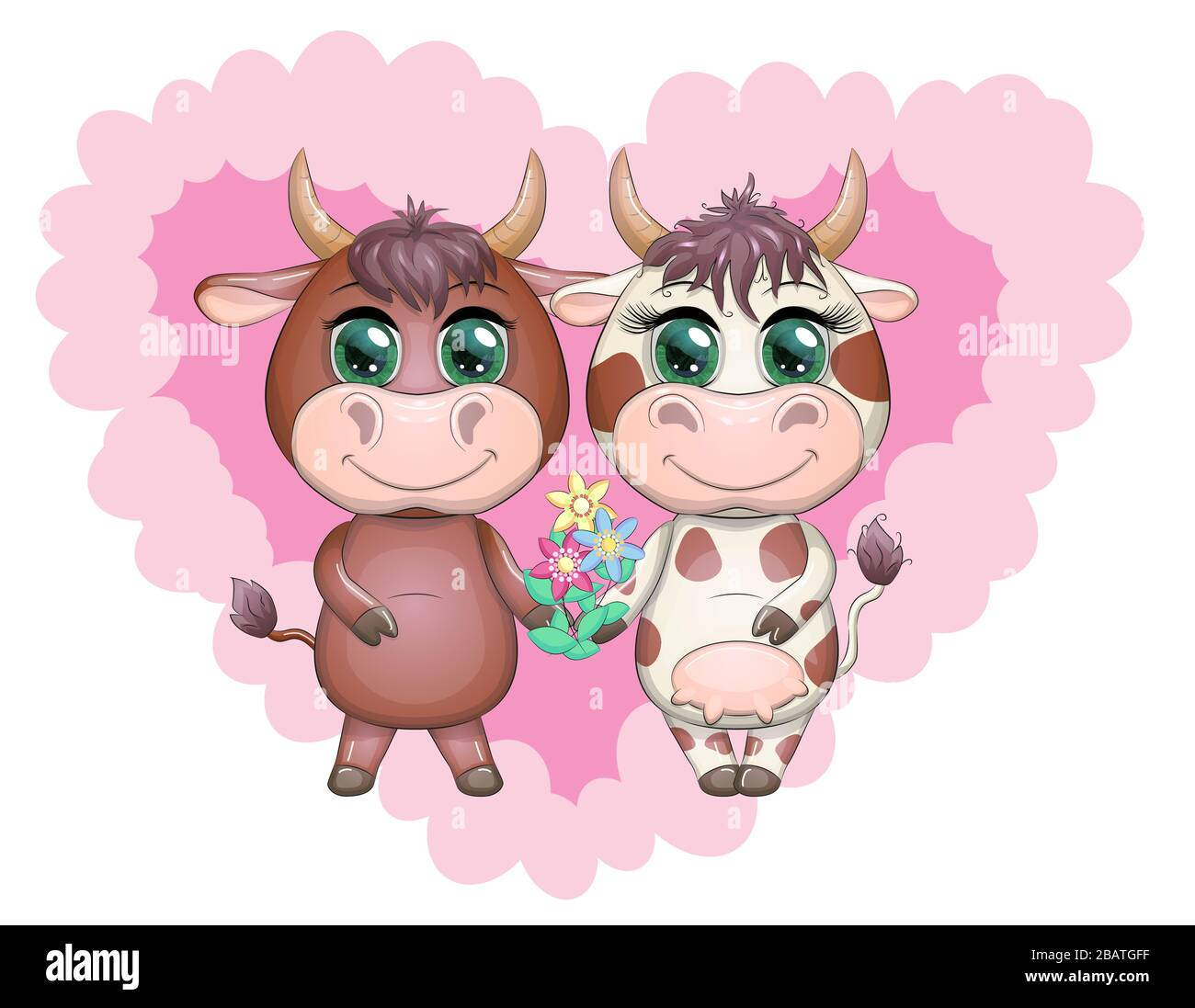 Cartoon Couple High Resolution Stock Photography And Images Alamy