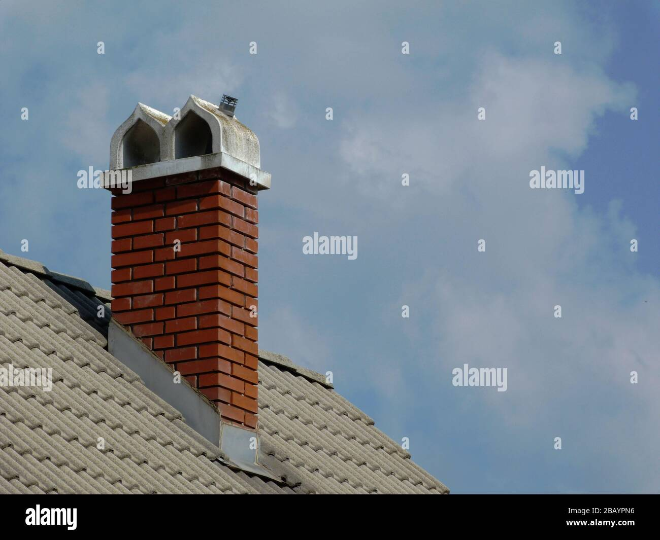 Concrete Roof Tiles High Resolution Stock Photography And Images Alamy