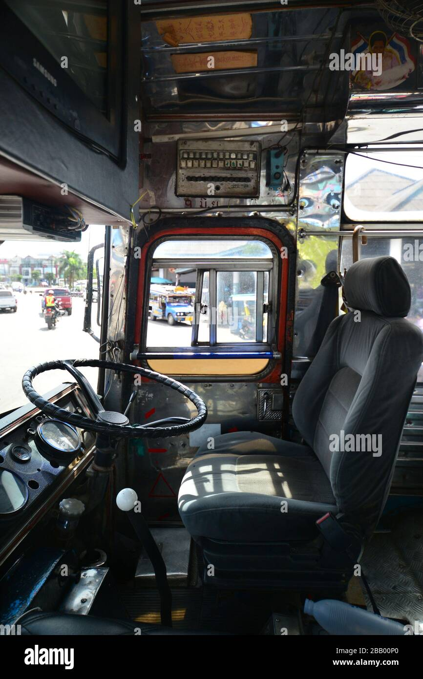 Old Thailand Bus High Resolution Stock Photography And Images Alamy