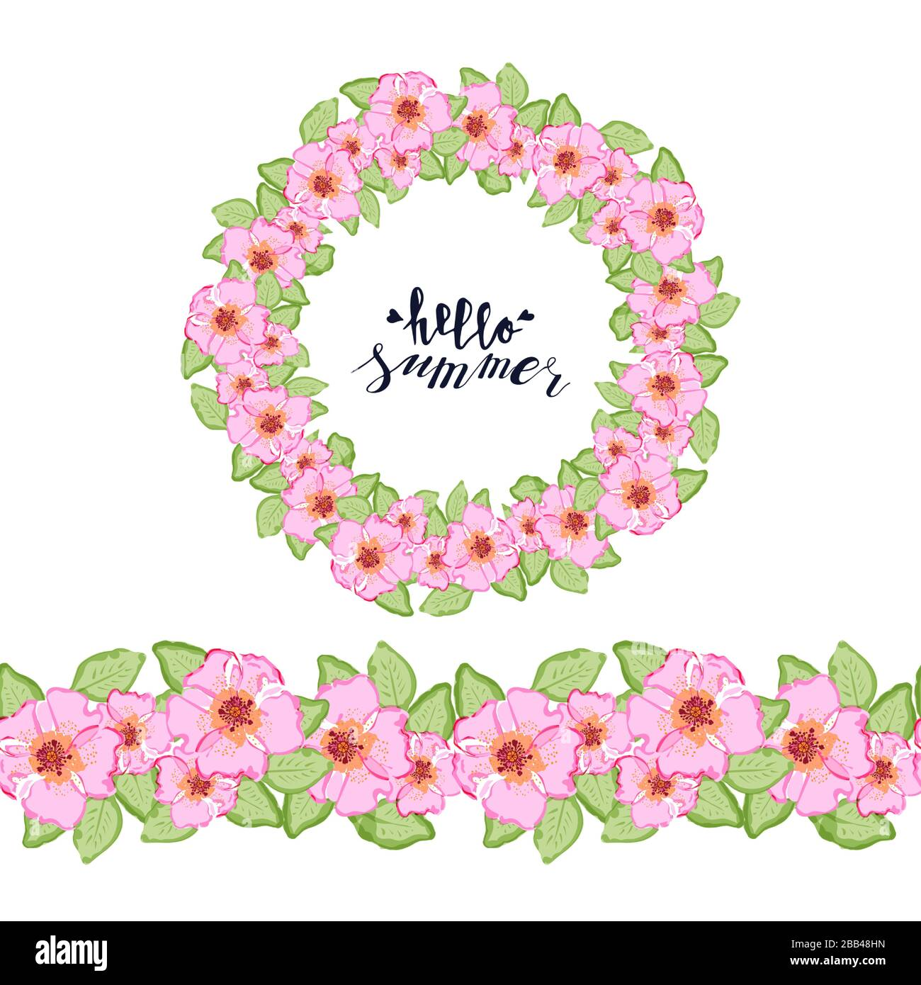 Black White Lace Flower Floral Red Pink Blue Rose Circle Round Wall paper Border