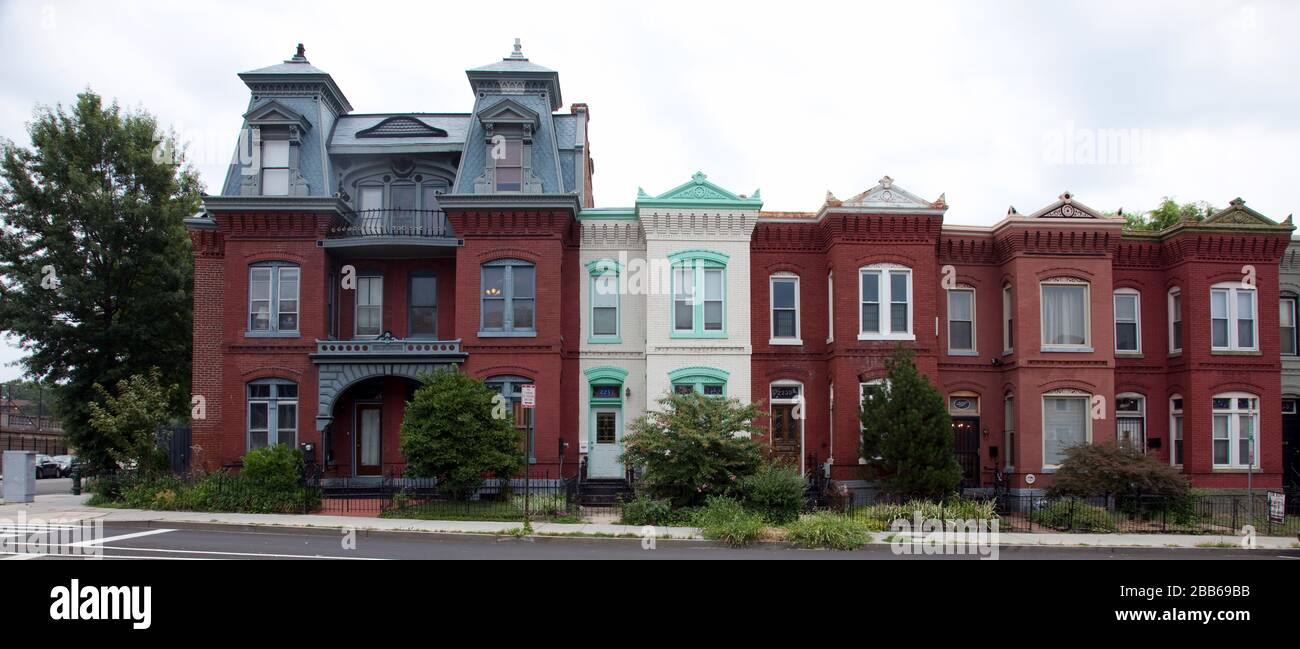 Greater U Street Historic District High Resolution Stock Photography And Images Alamy