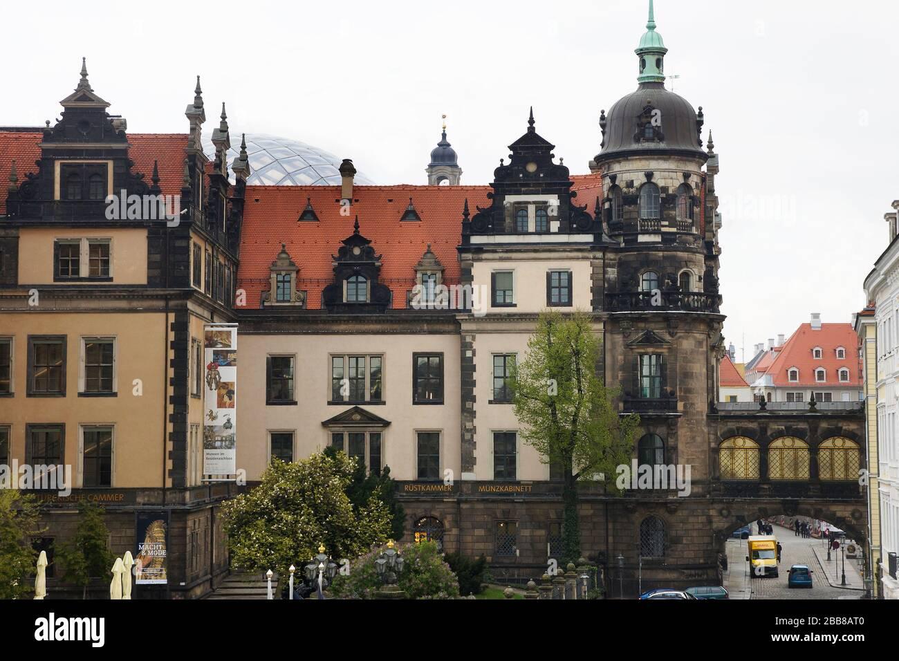 Residenzschloss Dresden Stock Photo