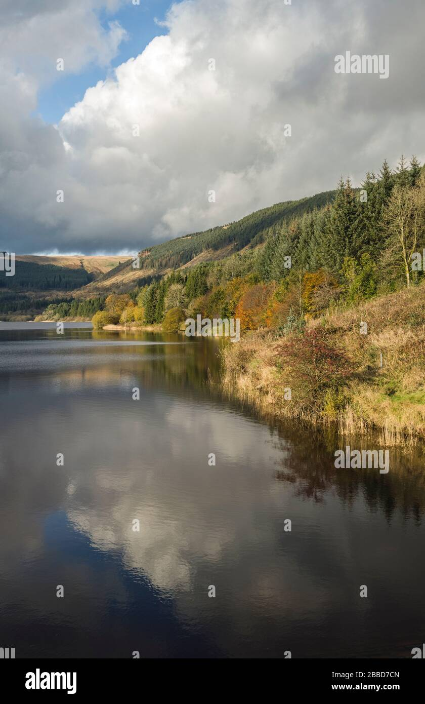Dolygaer Reservoir Central Brecon Beacons South Wales Stock Photo