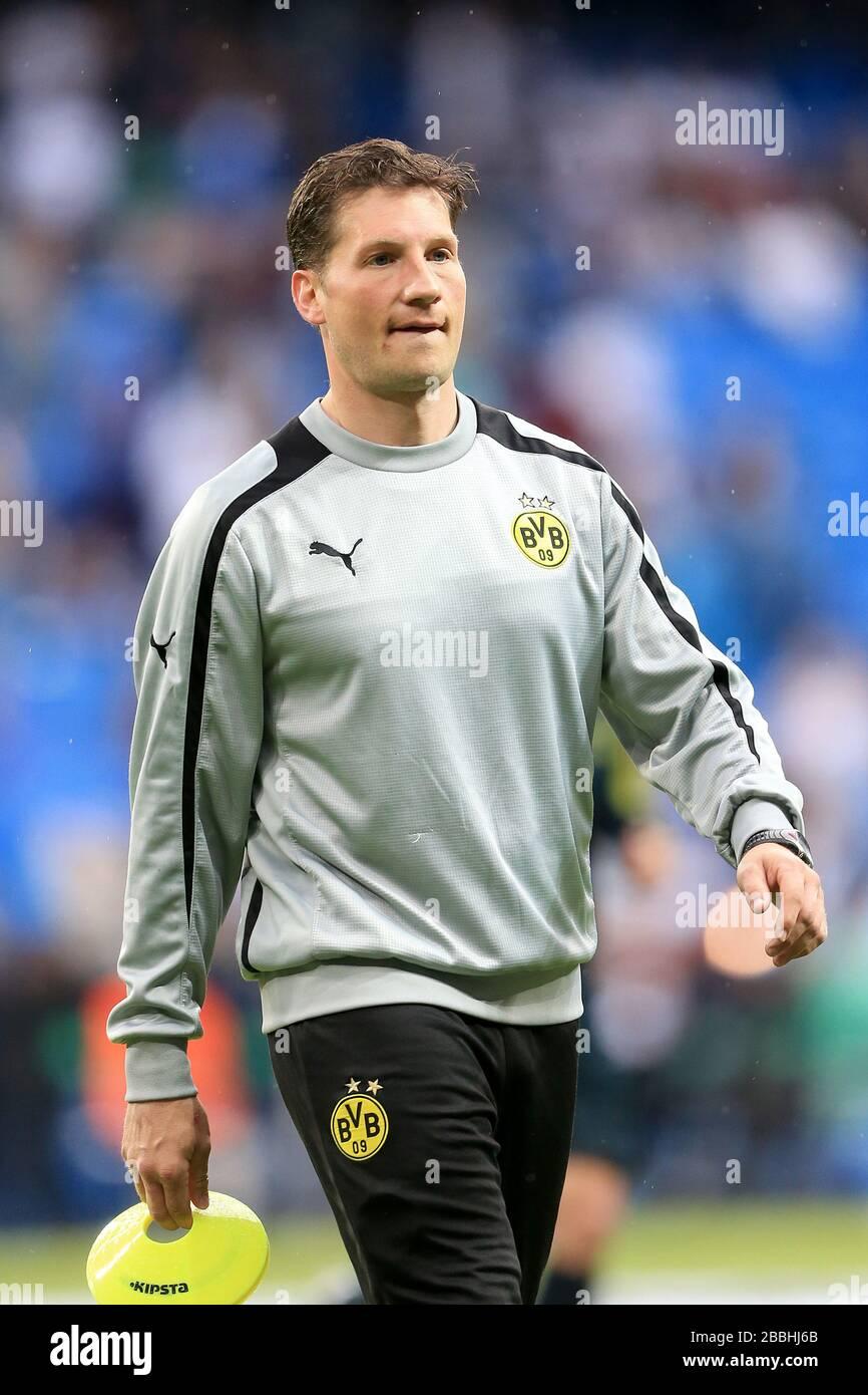 Andrea Beck Borussia Dortmund Fitness Trainer Stock Photo Alamy