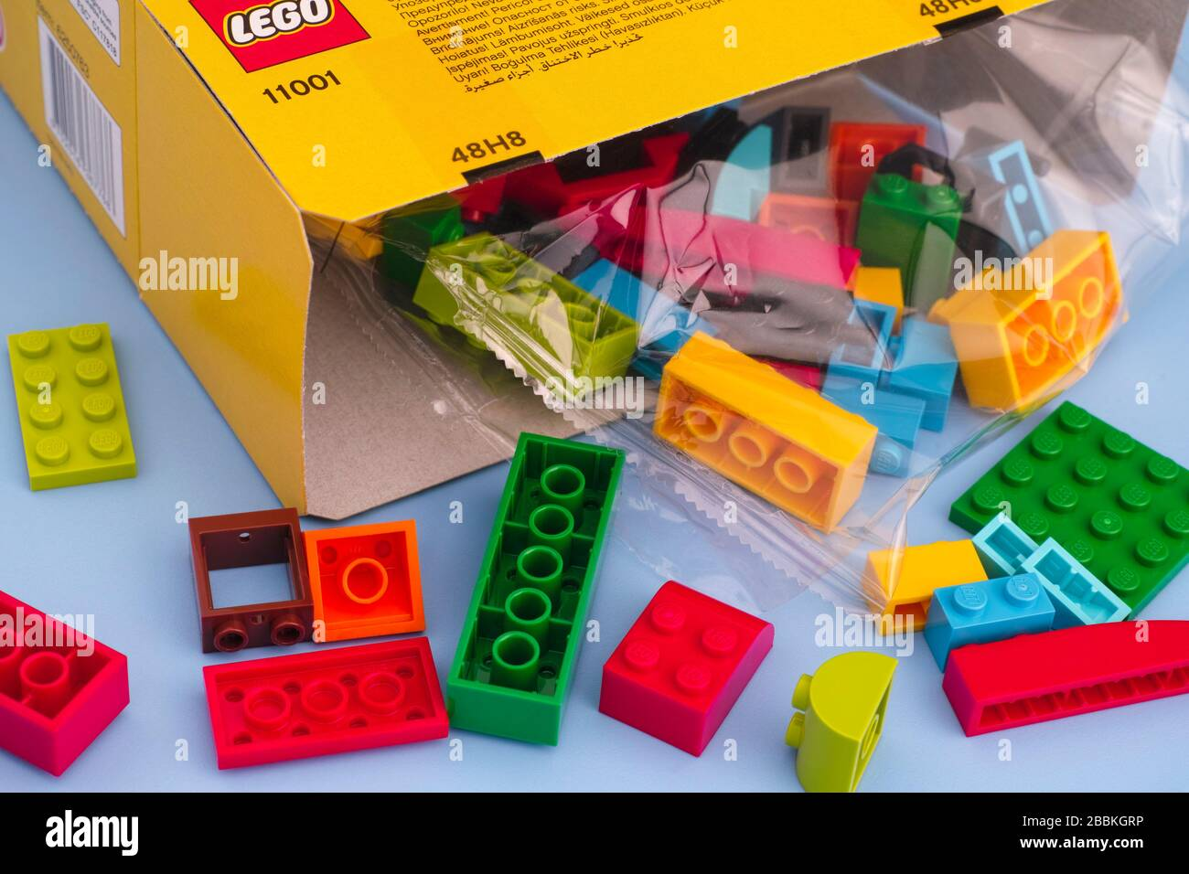 Assorted Lego Bricks Pieces Red Lego Wheel barrow for Minifigures or display