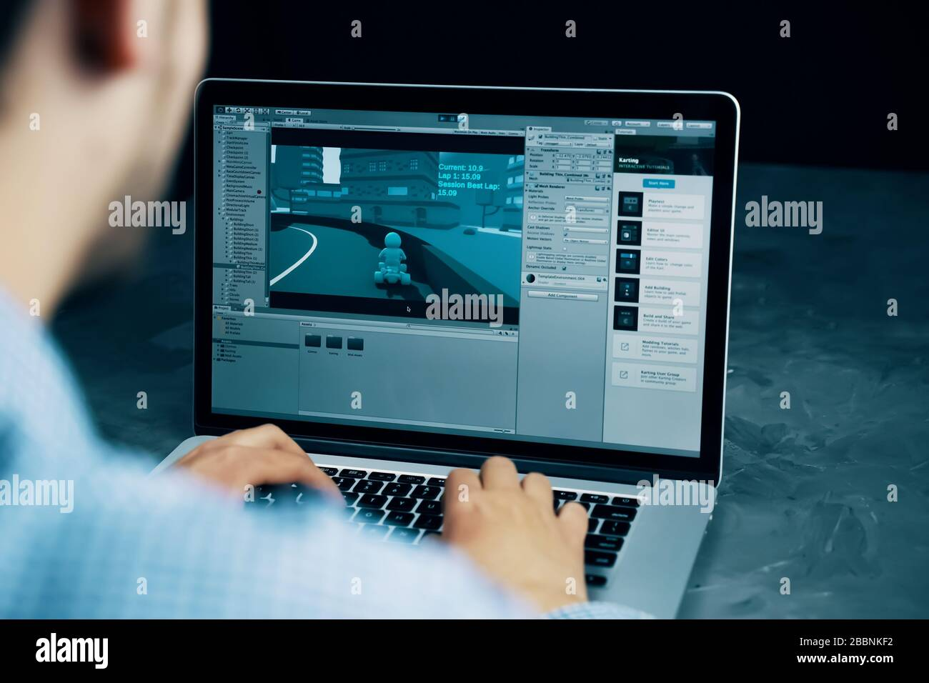 Software Developer High Resolution Stock Photography And Images Alamy