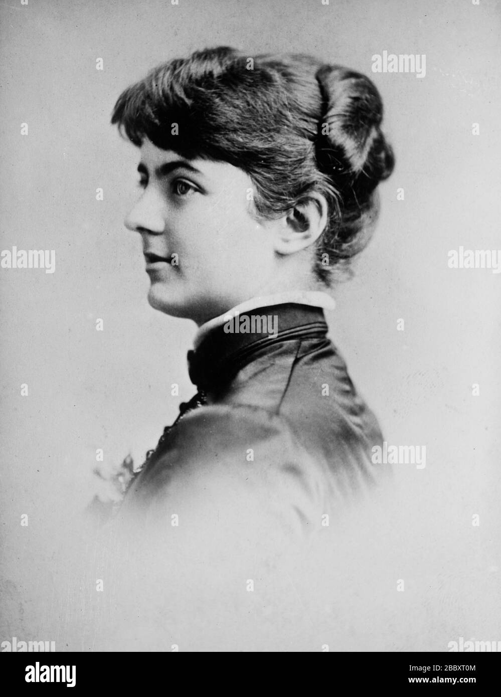 Frances Clara Folsom Cleveland Preston 1864 1947 Who Married President Grover Cleveland Ca 1910 1915 Stock Photo Alamy