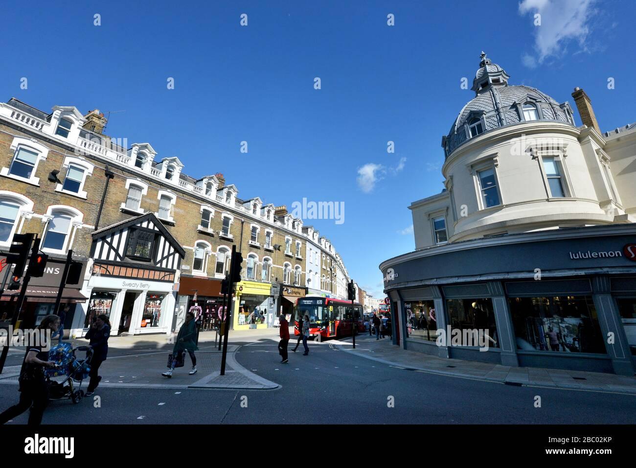The Quadrant, Richmond, London, UK Stock Photo