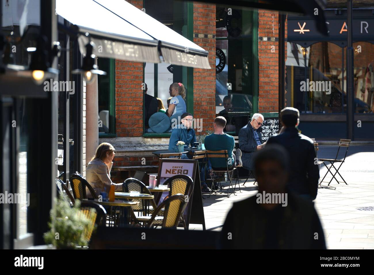 The Quadrant, Richmond, London, UK Stock Photo